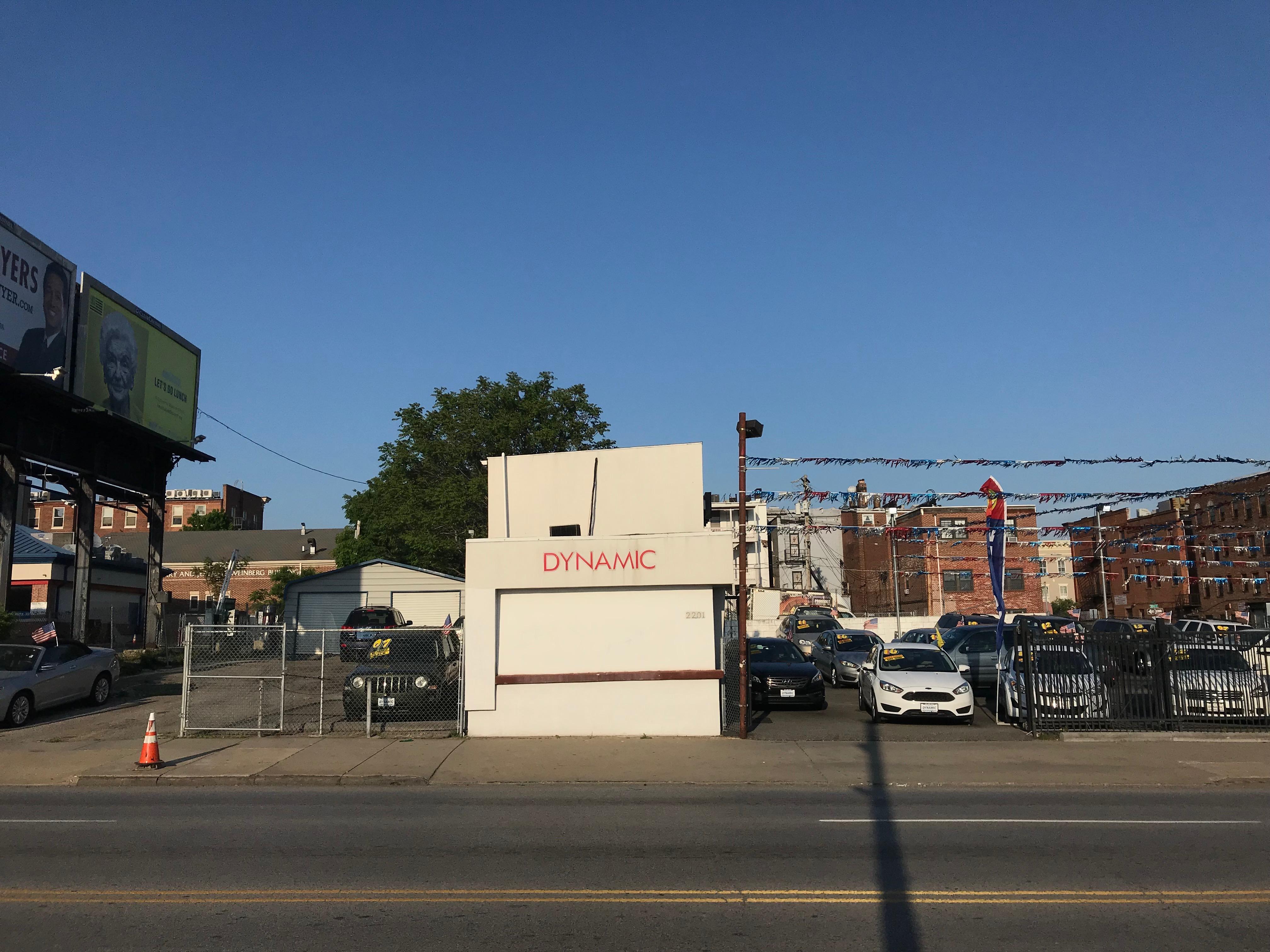 Dynamic Cars, 2201 N. Howard Street, Baltimore, MD 21218, 22nd Street, Automobile dealership, Baltimore, Baltimore City, HQ Photo