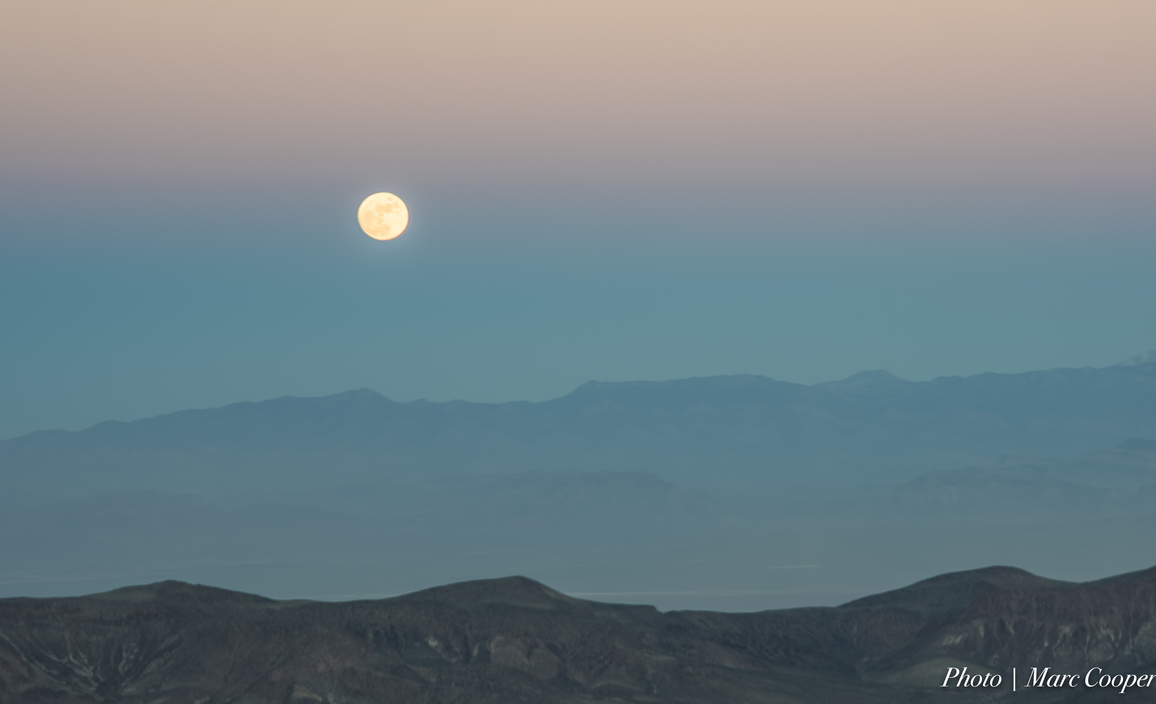 Early Moon 3, Blue, Mountains, Sky, Park, HQ Photo