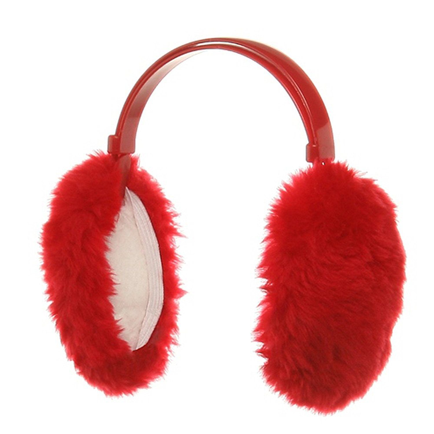 Ear Muffs - Red at Amazon Men's Clothing store: Cold Weather Earmuffs