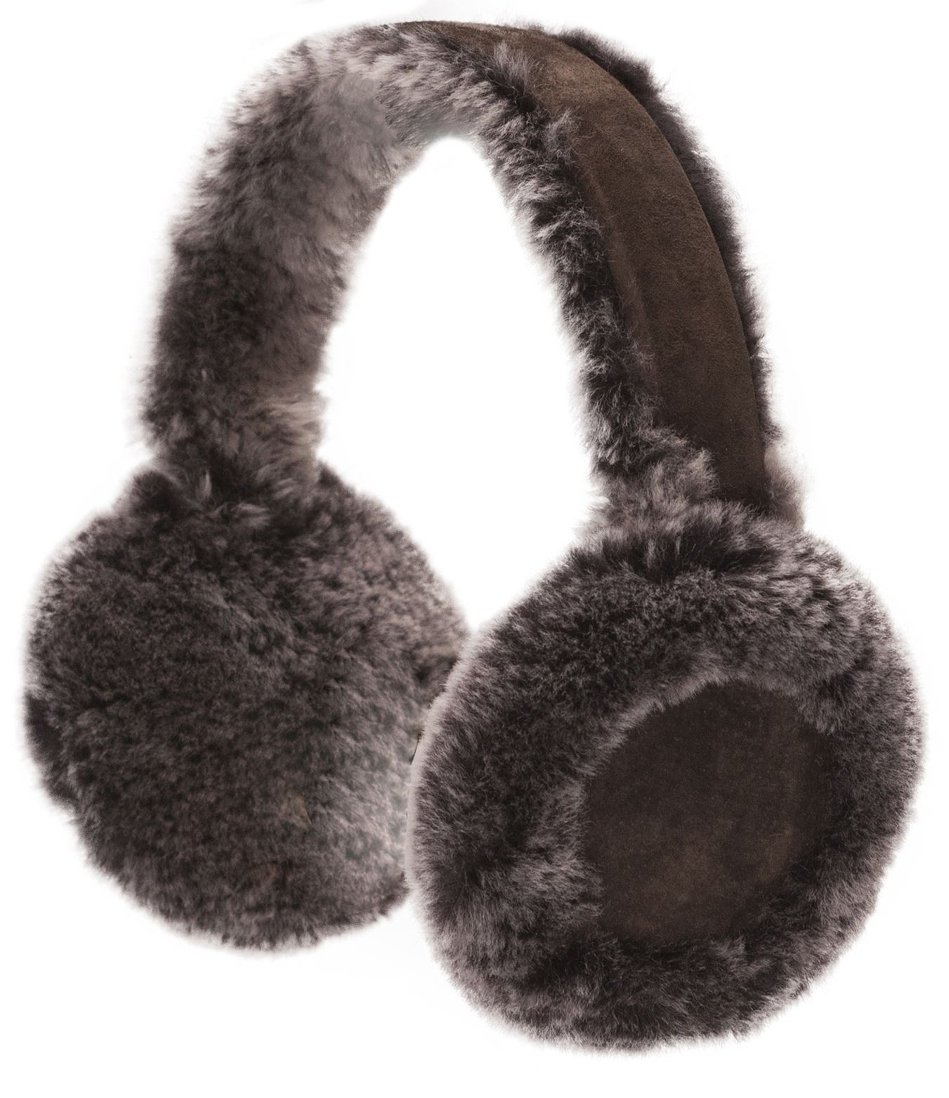 Nordvek Ladies Real Sheepskin Earmuffs Warm Genuine Womens Boxed 506 ...