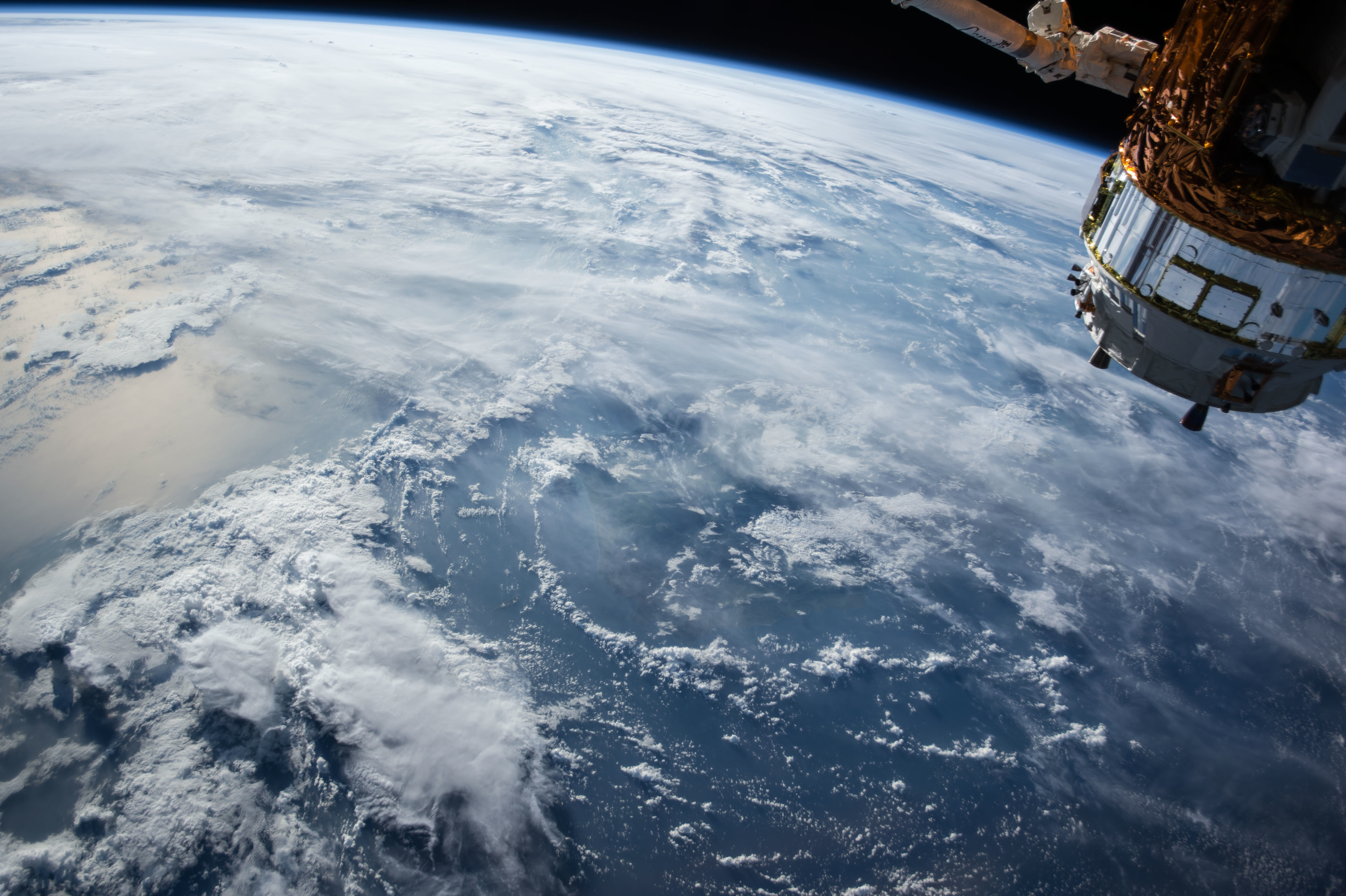 Earth, Blue, Satellite, Science, Space, HQ Photo