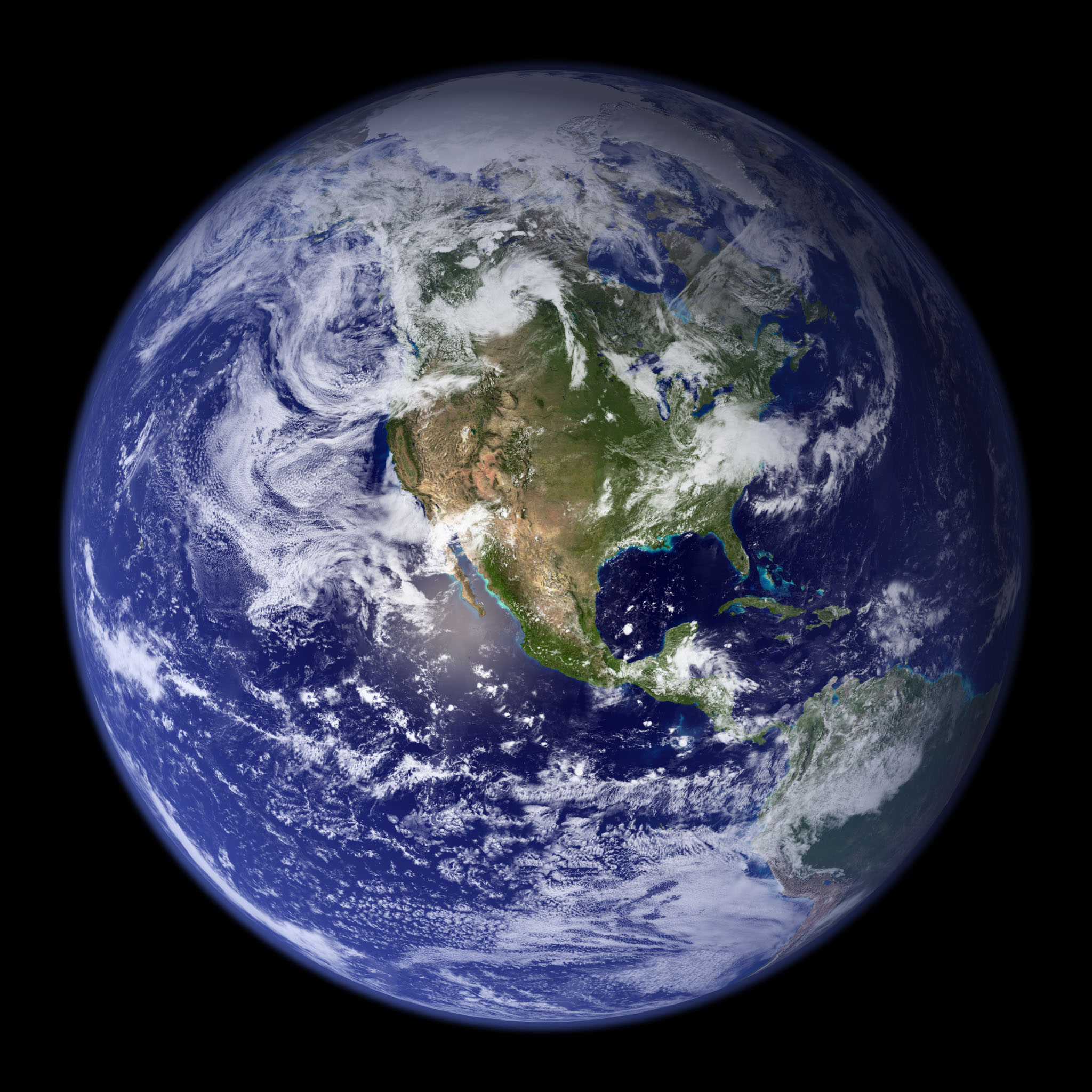 Earth view photo