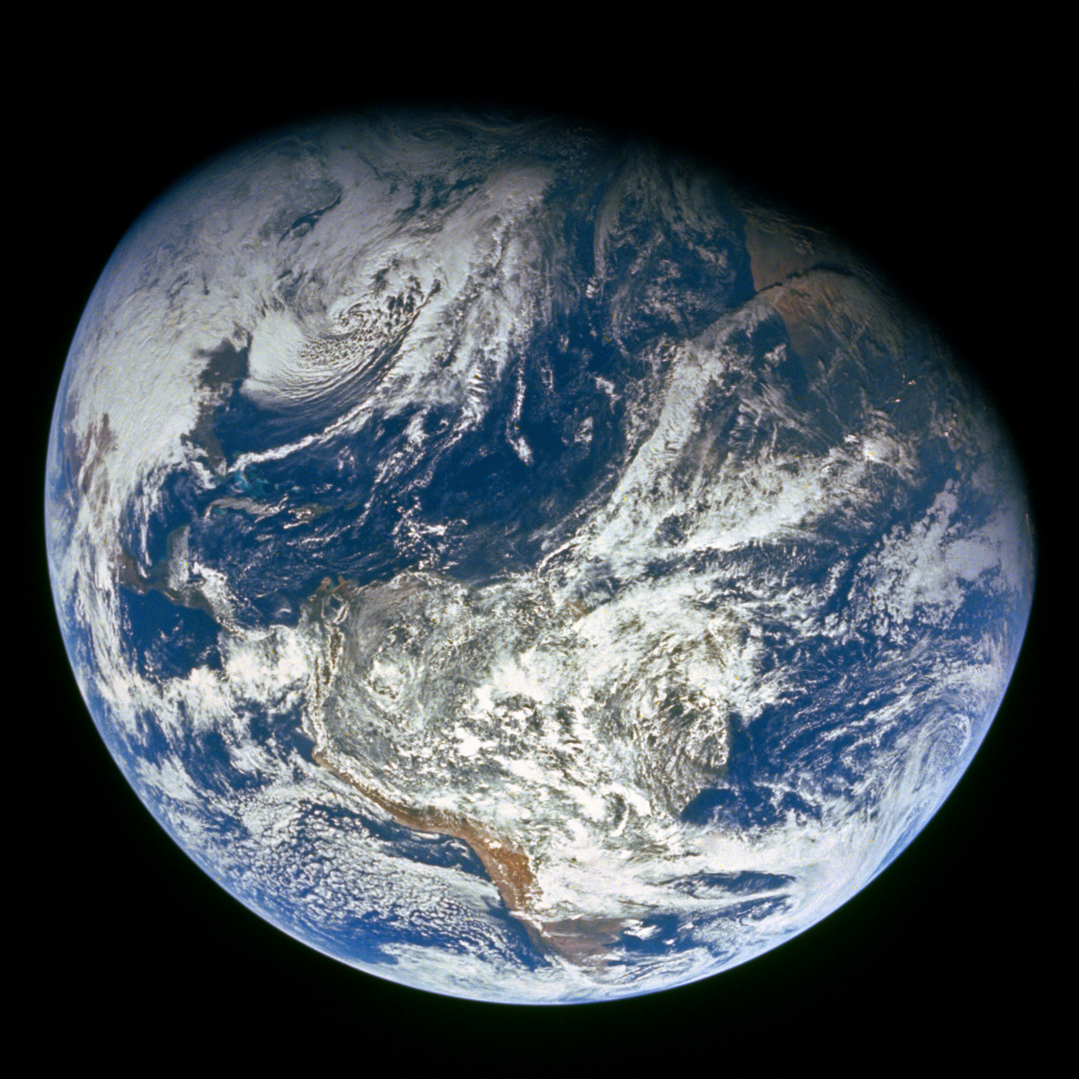 Earth Viewed by Apollo 8 : Image of the Day
