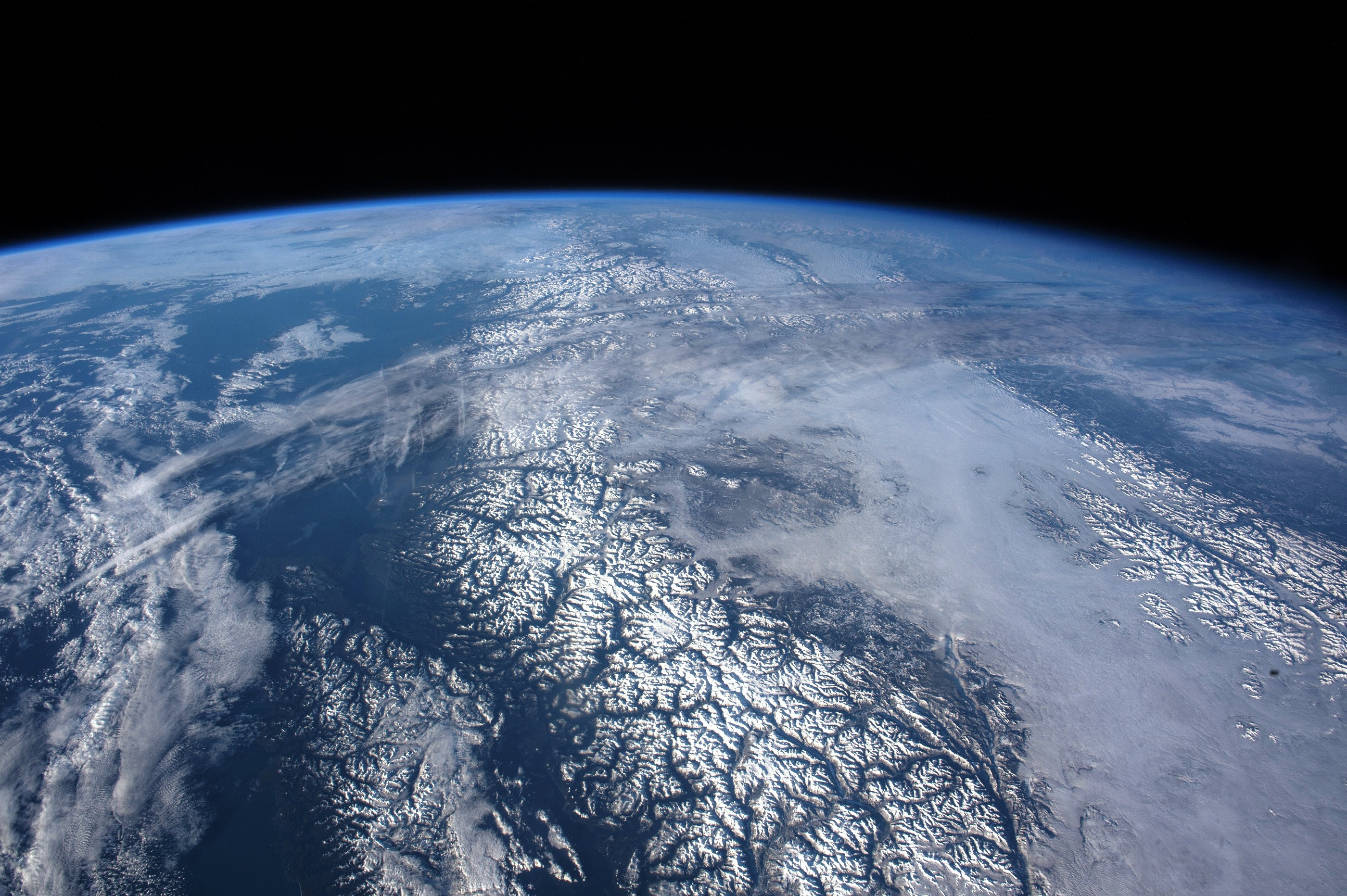 Earth From Space, Panorama, Space, Planet, Nature, HQ Photo