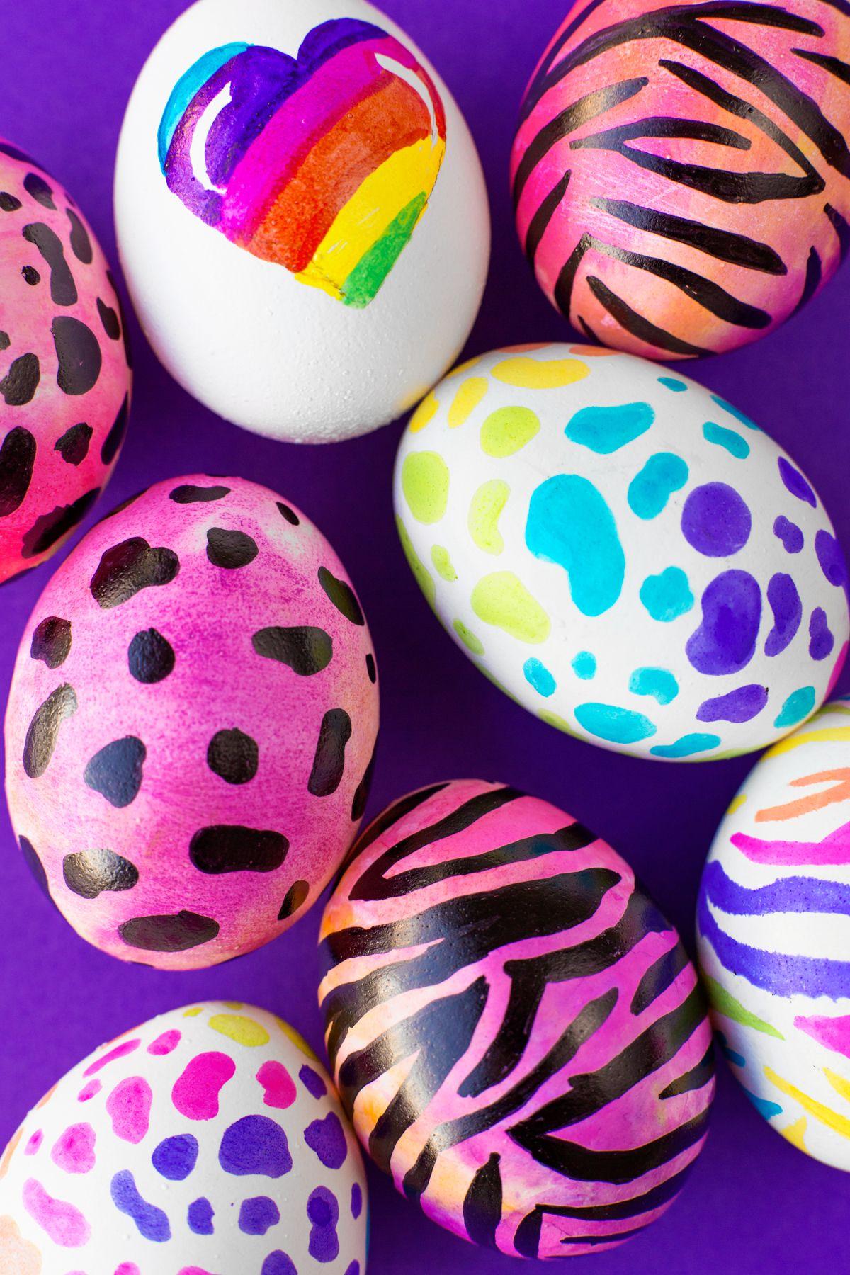 16 Spectacular Easter Egg Designs - Easy DIY Easter Egg Ideas