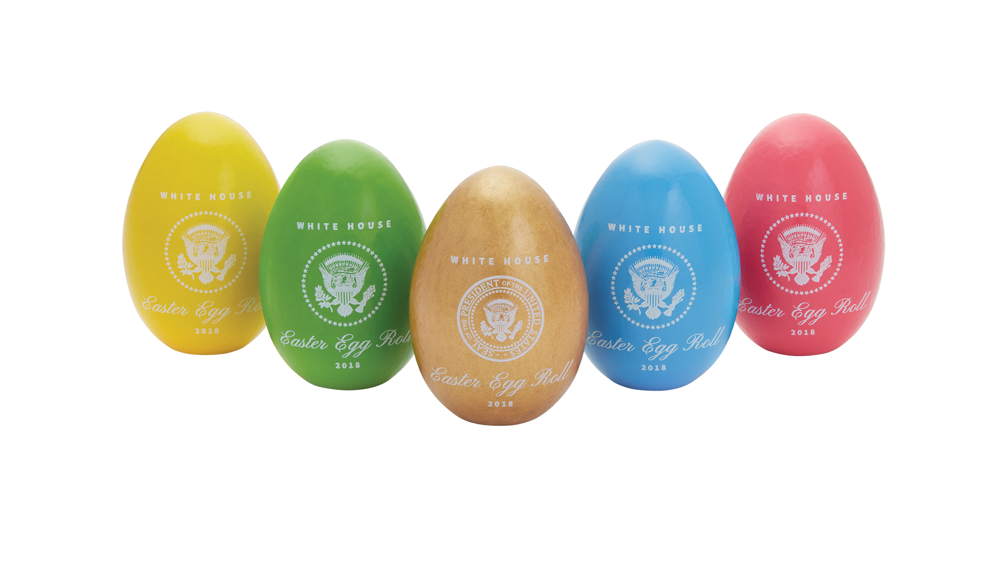 Official 2018 White House Easter Egg Set | The White House ...
