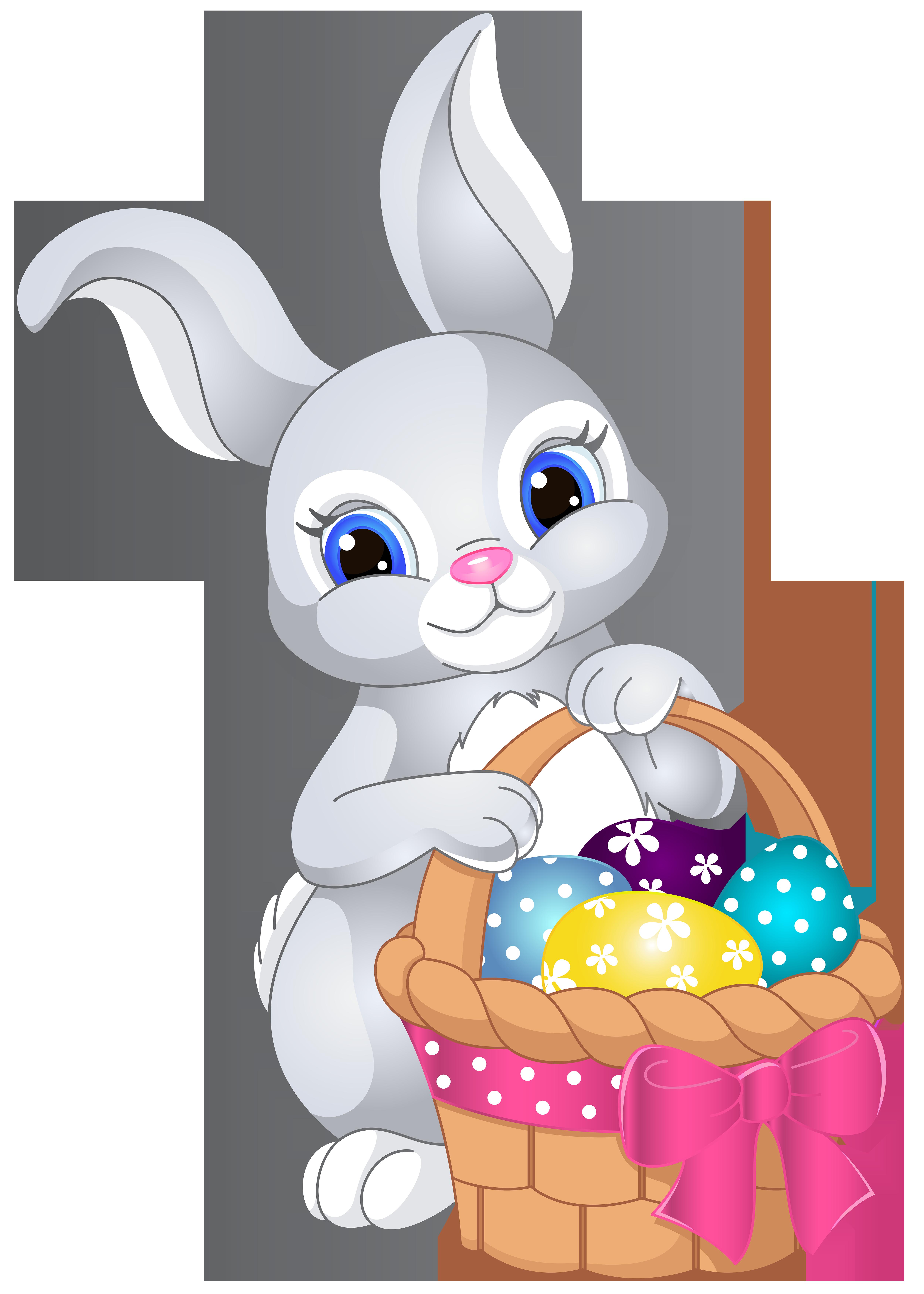 Rabbit clipart easter rabbit #10 | πασχα | Pinterest | Rabbit ...