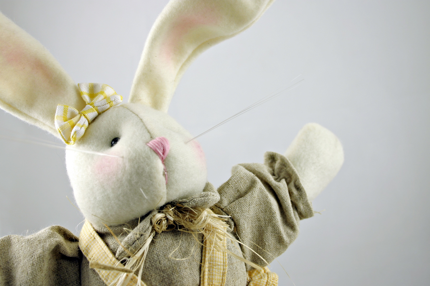 Easter rabbit, Animal, Cute, Doll, Easter, HQ Photo