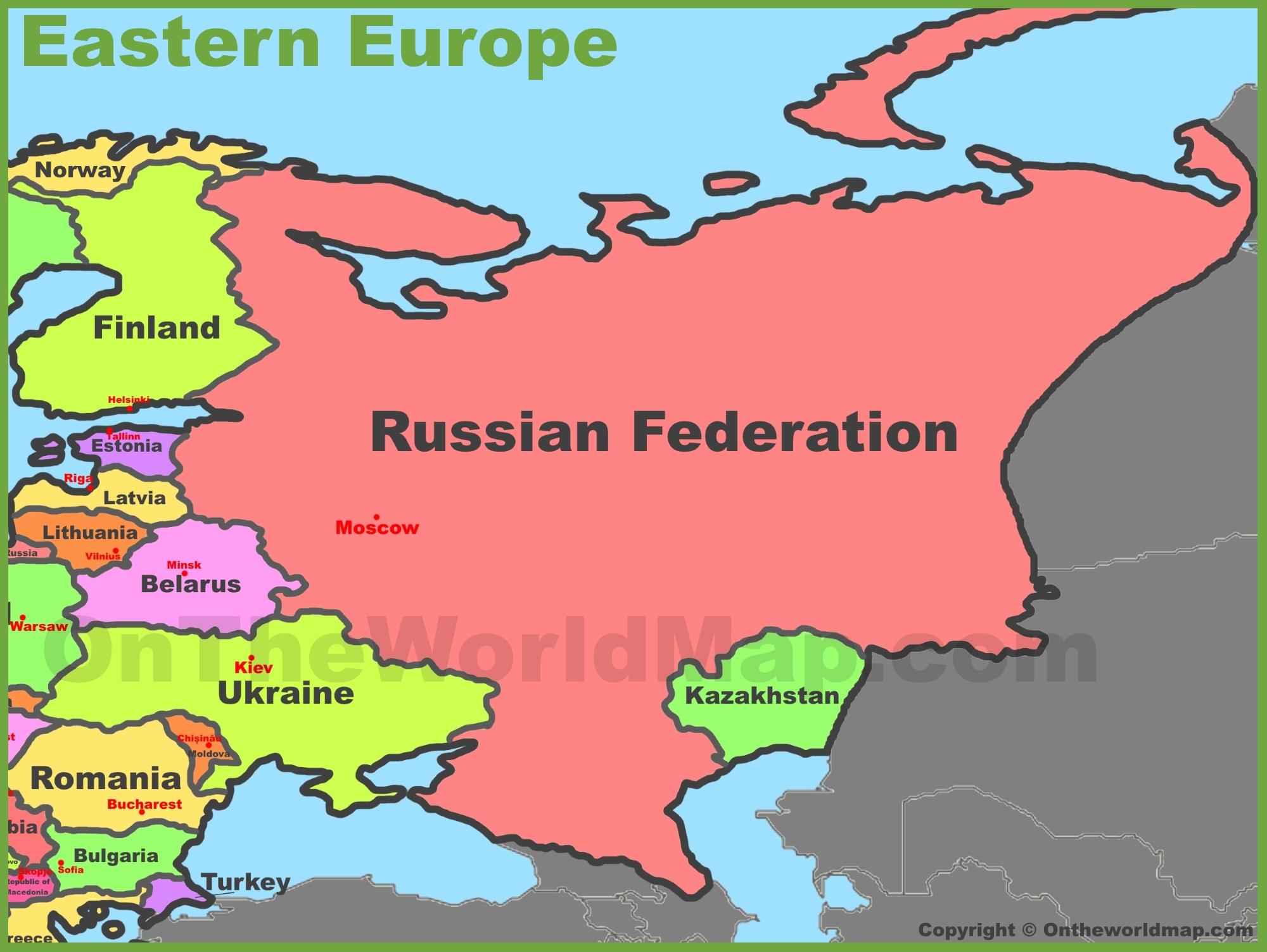 Free Photo Eastern Europe Map Minsk Moldova Maps Free