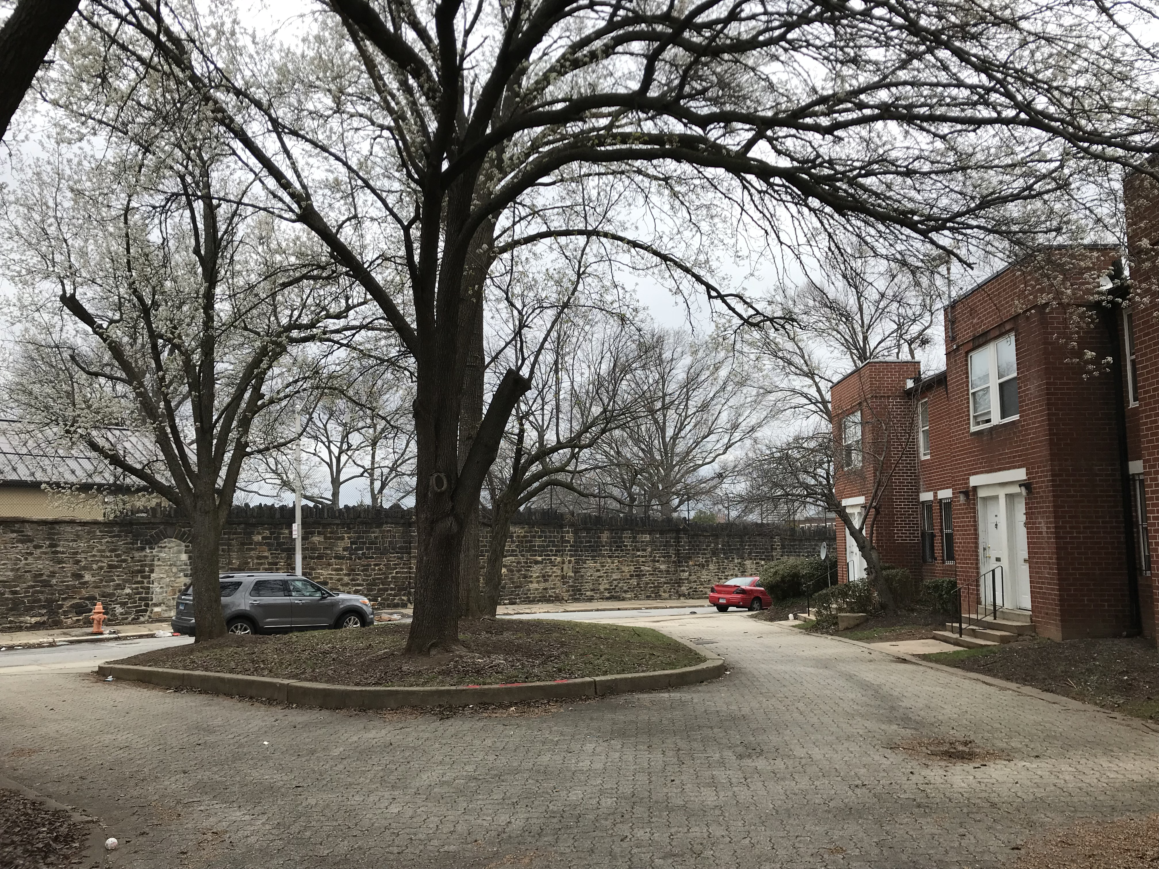 EastView Place townhouses and open space near Holbrook Street and E. Lanvale Street (bounded by Ensor Street and Aisquith Street), Baltimore, MD 21202, Aisquith Street, Baltimore, Building, Car, HQ Photo