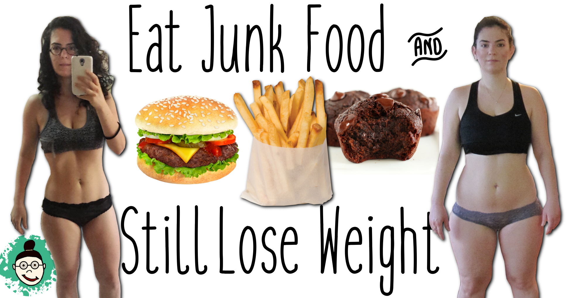 Junk Food: How to Eat It & Lose Weight | Weight Loss Tips | vegaNoga