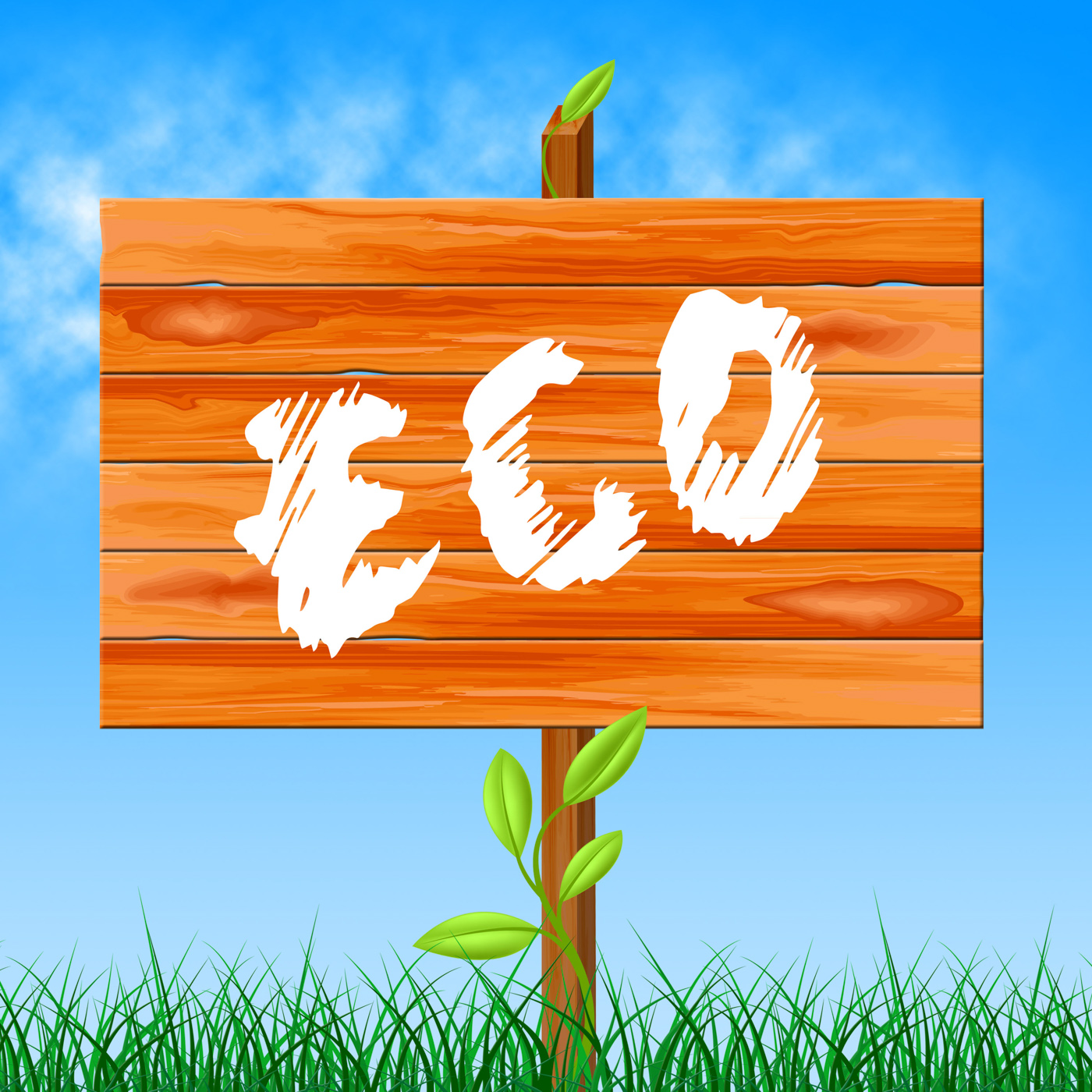 Eco Friendly Represents Go Green And Eco-Friendly, Conservation, Gogreen, Recycling, Recycled, HQ Photo