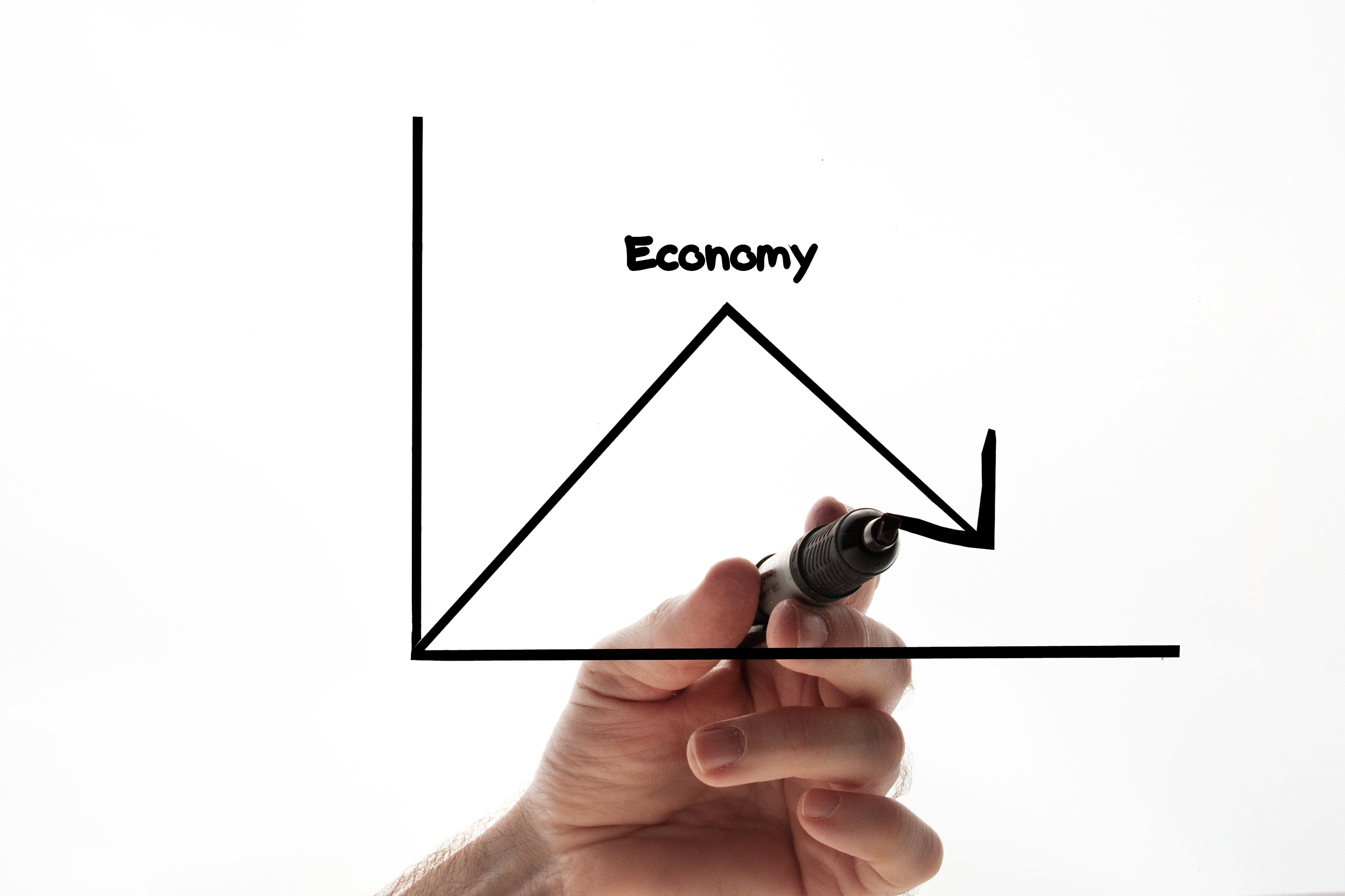 Economy graph, Analysis, Performance, Increase, Layout, HQ Photo
