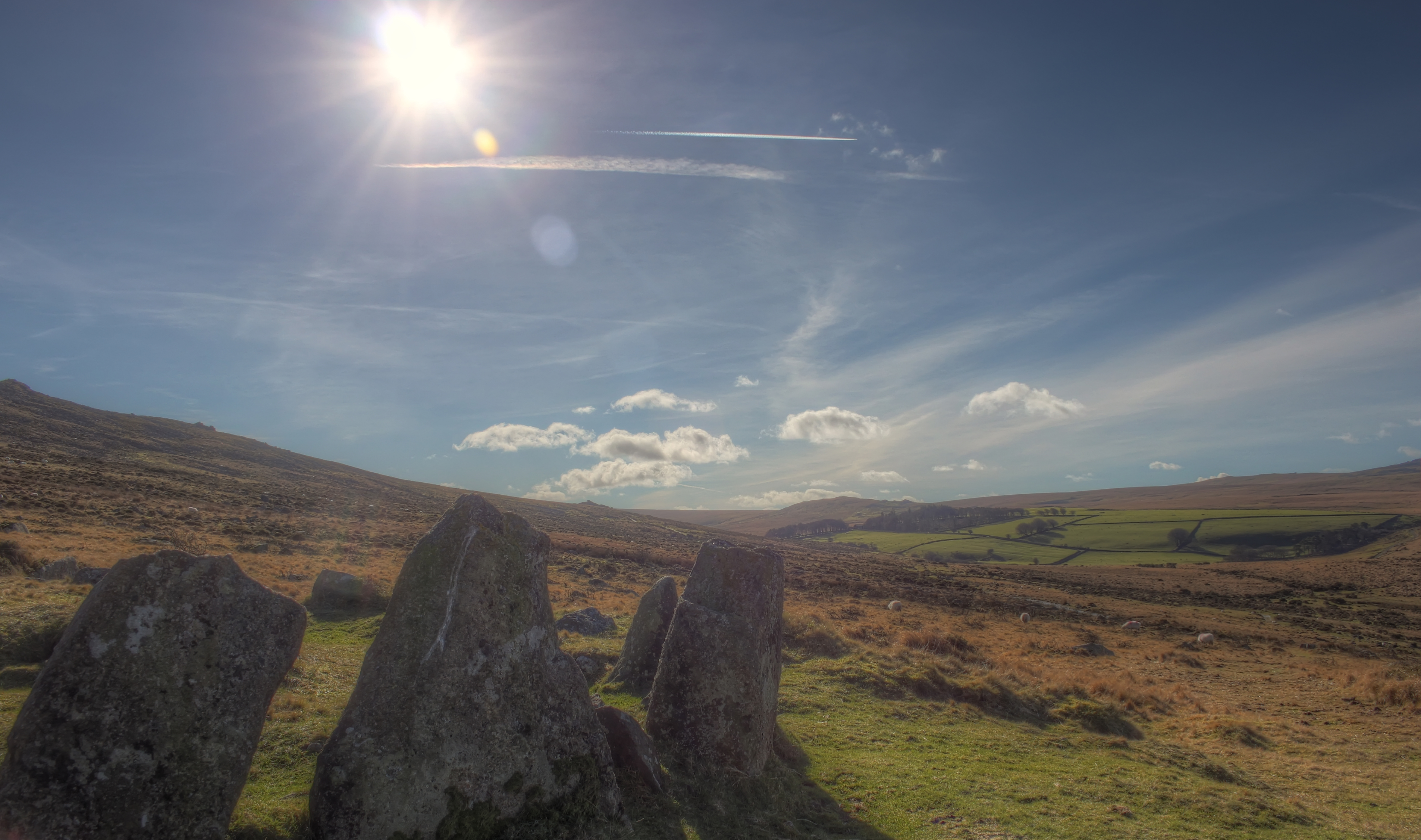 Edge of the stone circle photo