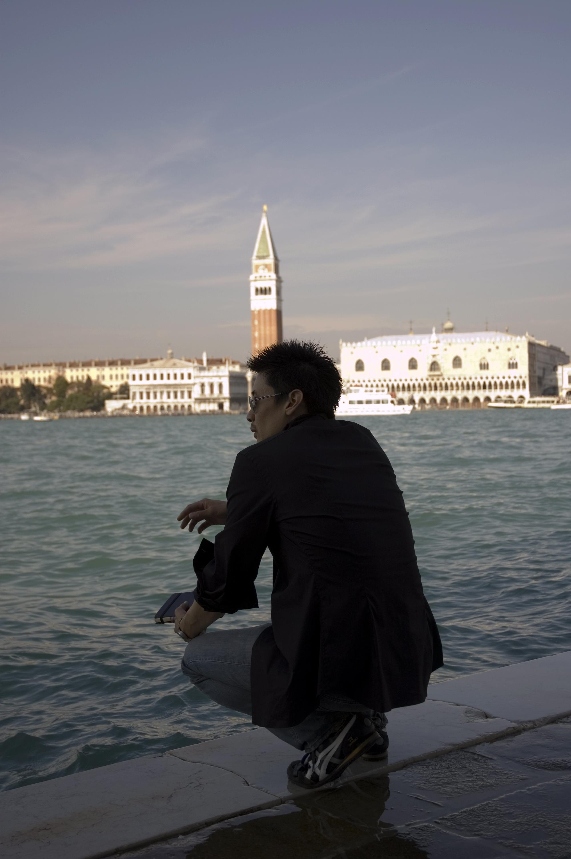 Edge..., Sea, Venice, Viewing, Water, HQ Photo