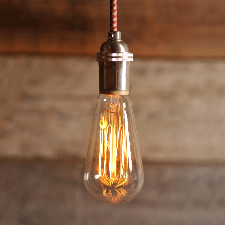 Edison light bulbs photo