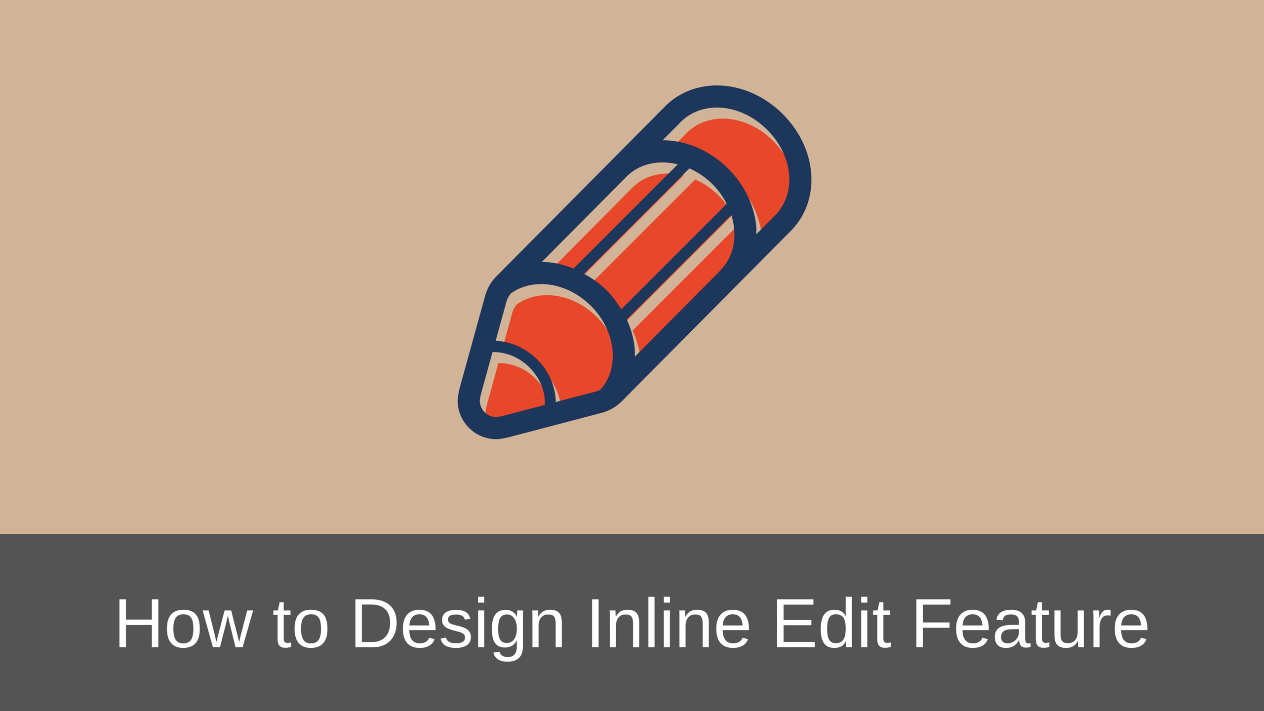 How to Properly Design Inline Edit Feature in Web Applications