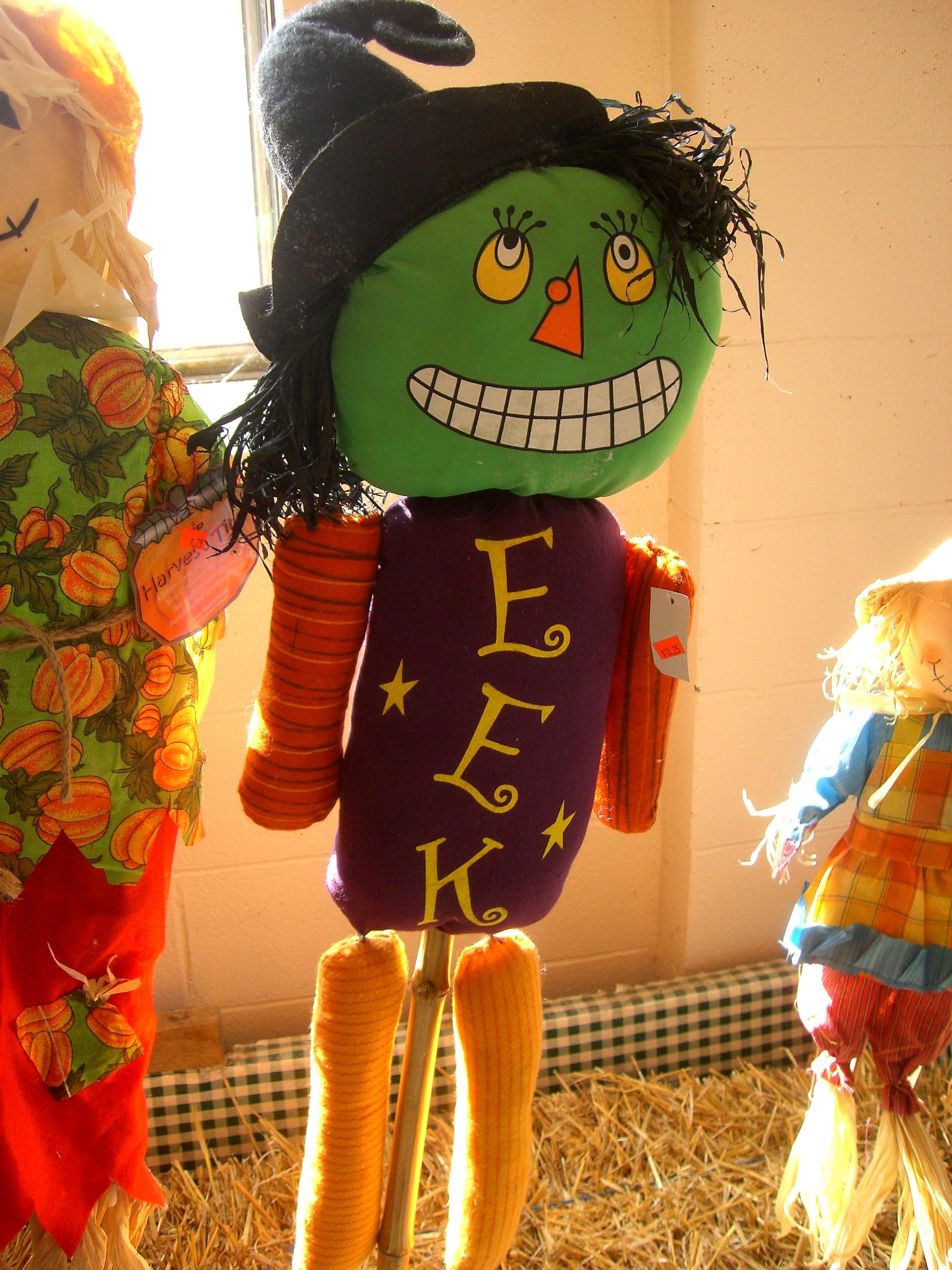 Eek! Puppet, Autumn, Fall, Halloween, Puppet, HQ Photo