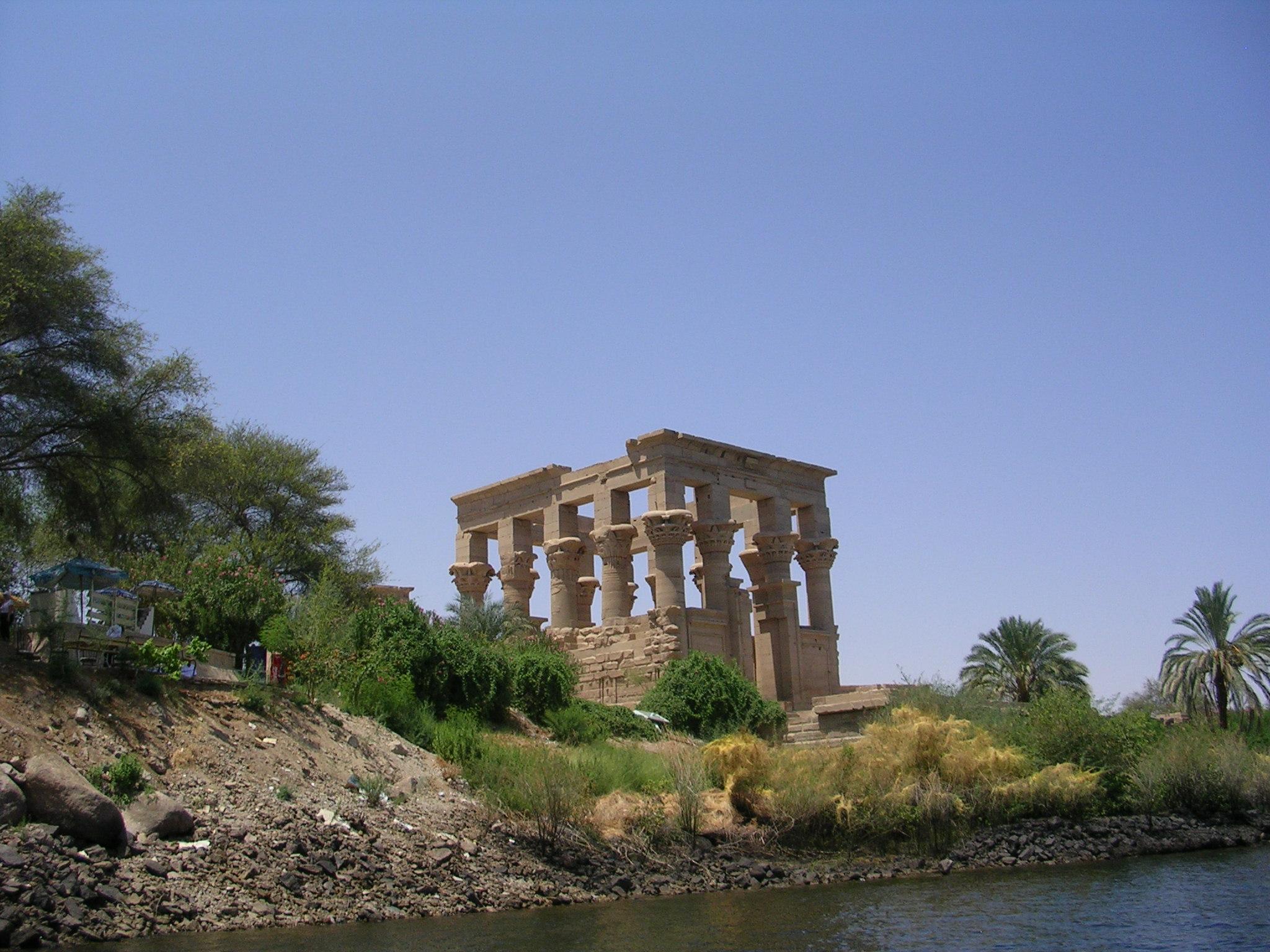 Egypt, Abu, Plants, Temple, Structure, HQ Photo