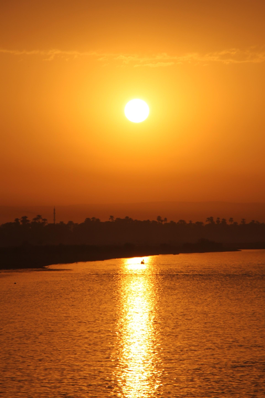 Egypt, Glare, Lake, Nature, River, HQ Photo