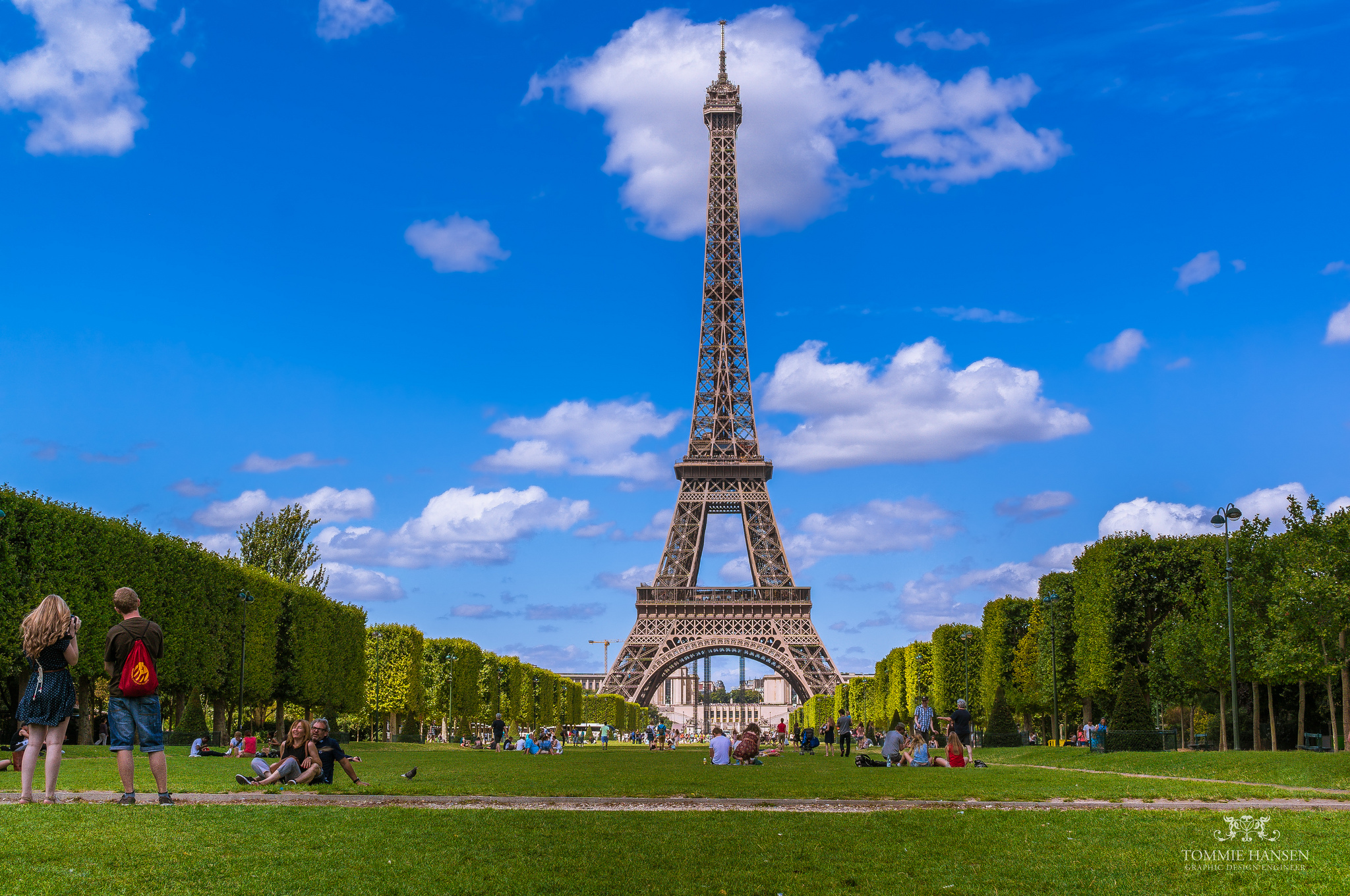 free photo: eiffel tower - scenic, romantic, paris - free download
