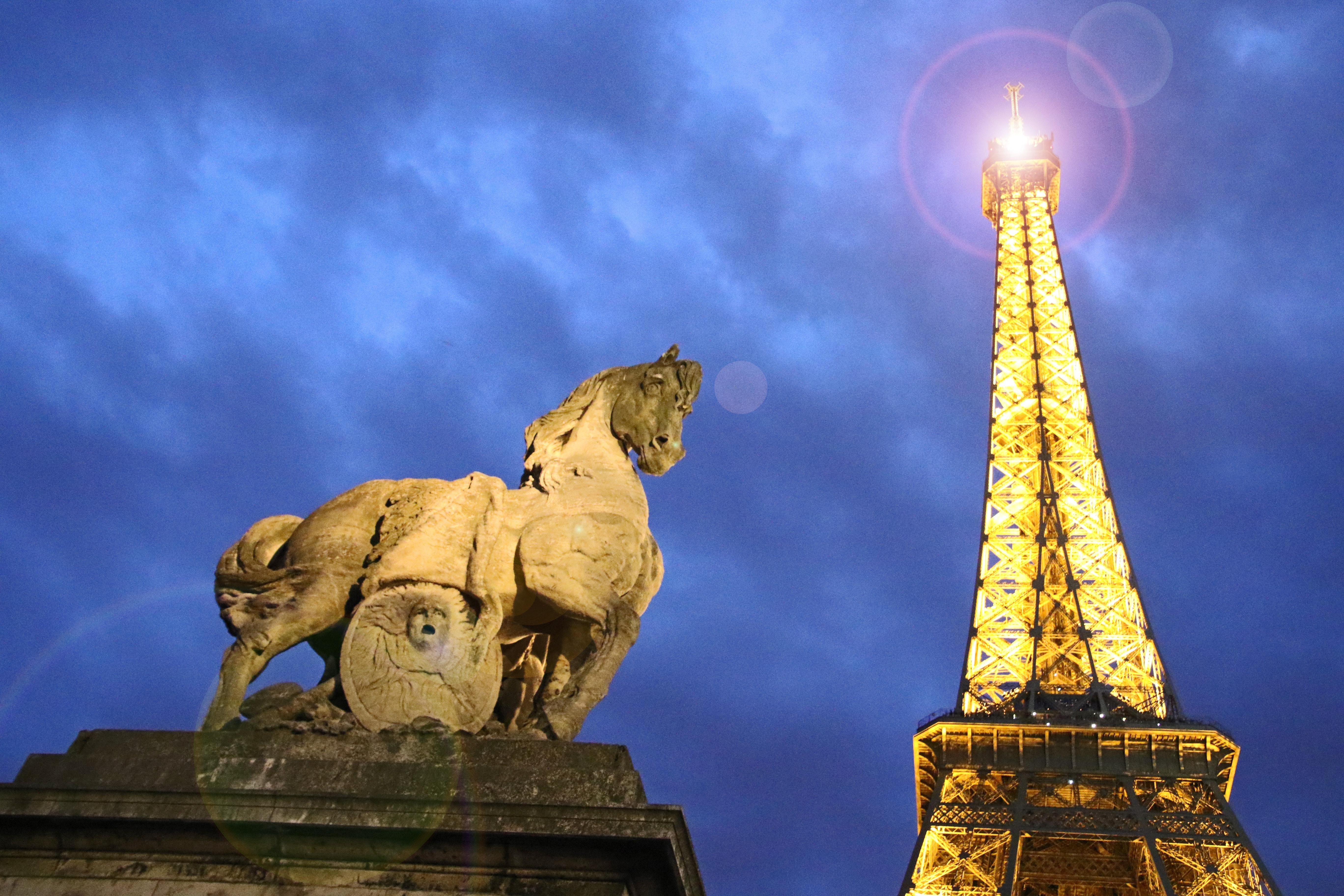 Eiffel Tower, Paris, Ancient, Low angle shot, Tourism, Symbol, HQ Photo