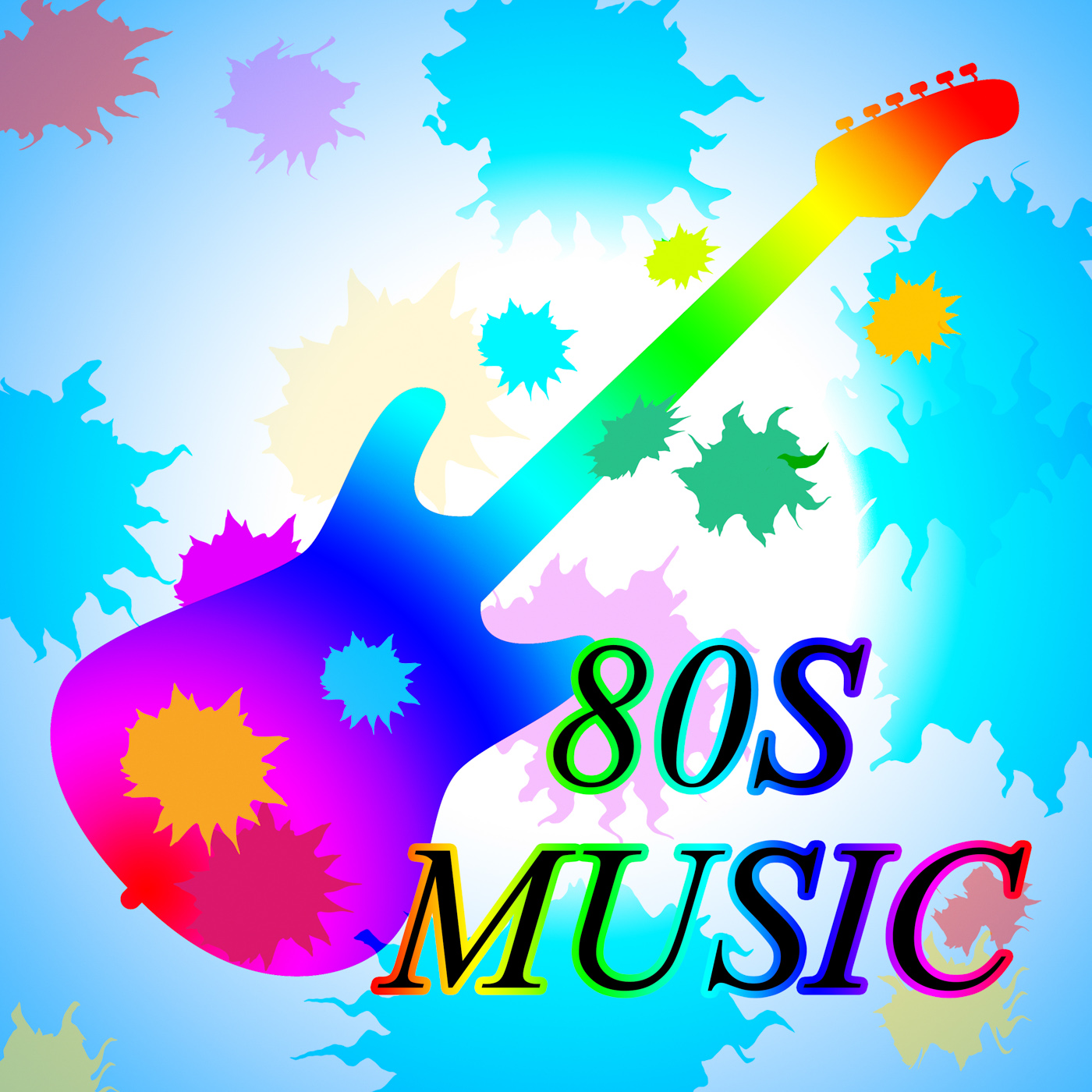 Eighties music shows acoustic music and soundtrack photo