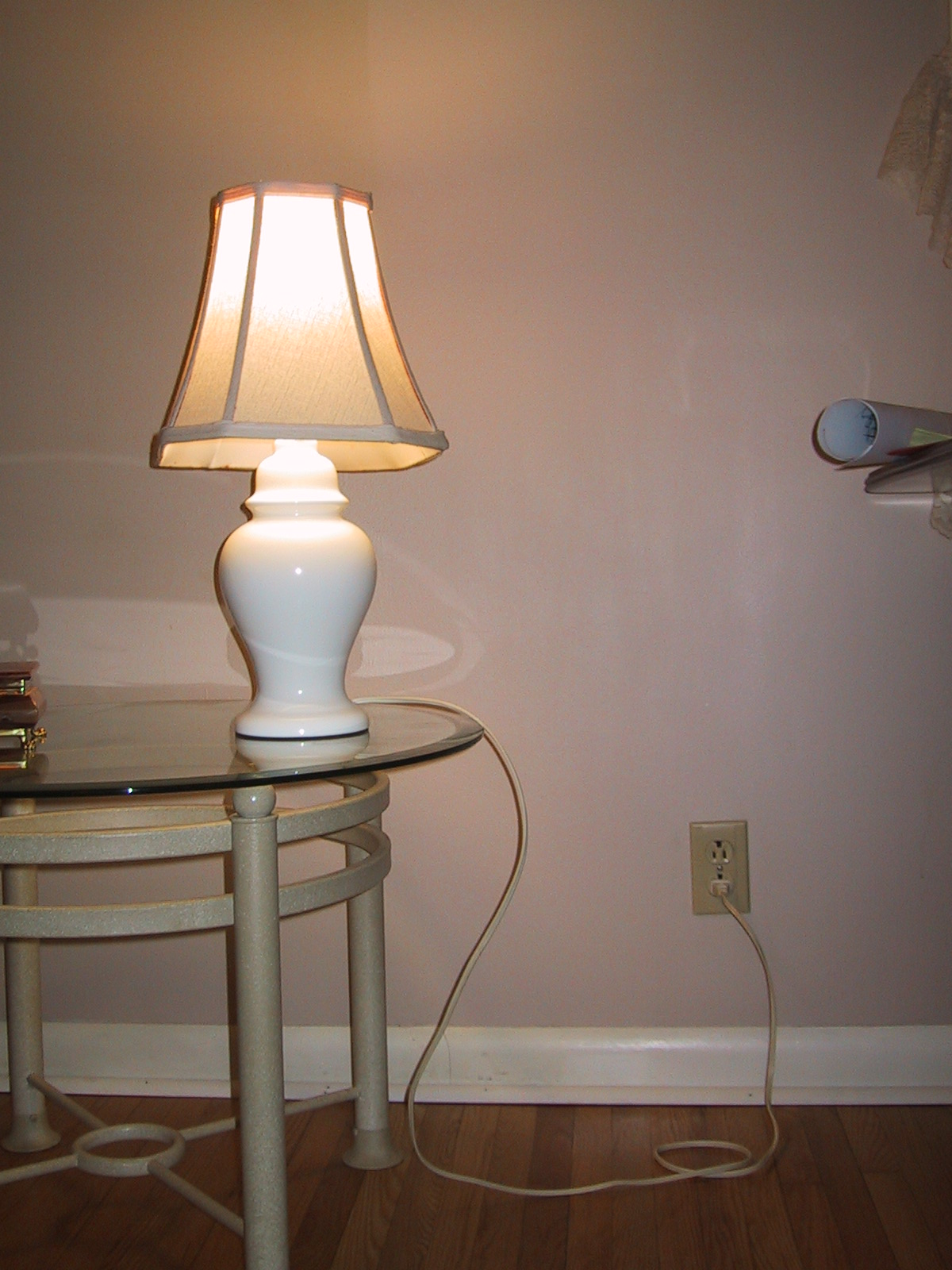 Electric lamp photo