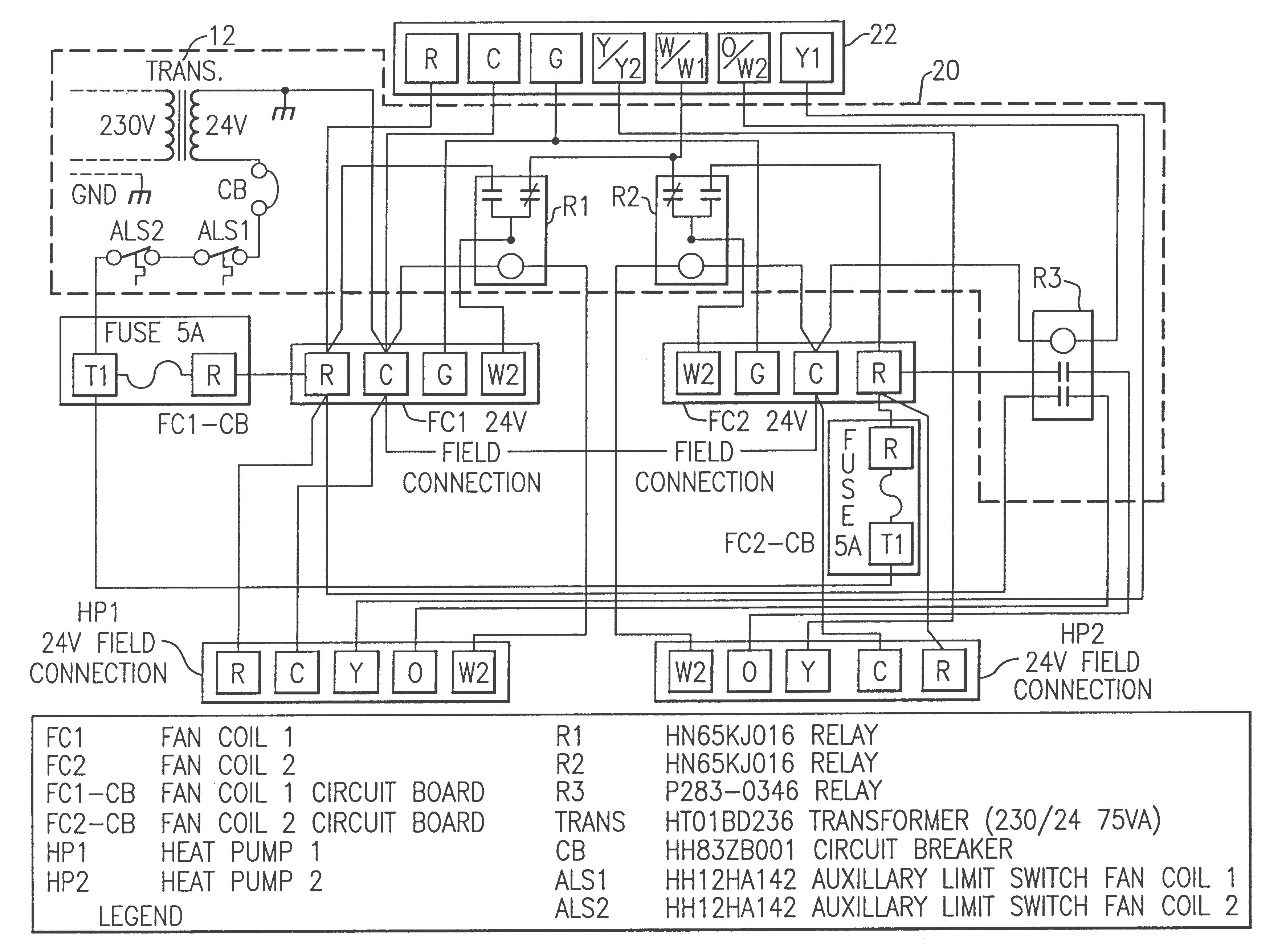 Electric Heat Strip Wiring Diagram Inspirational Package Unit ...