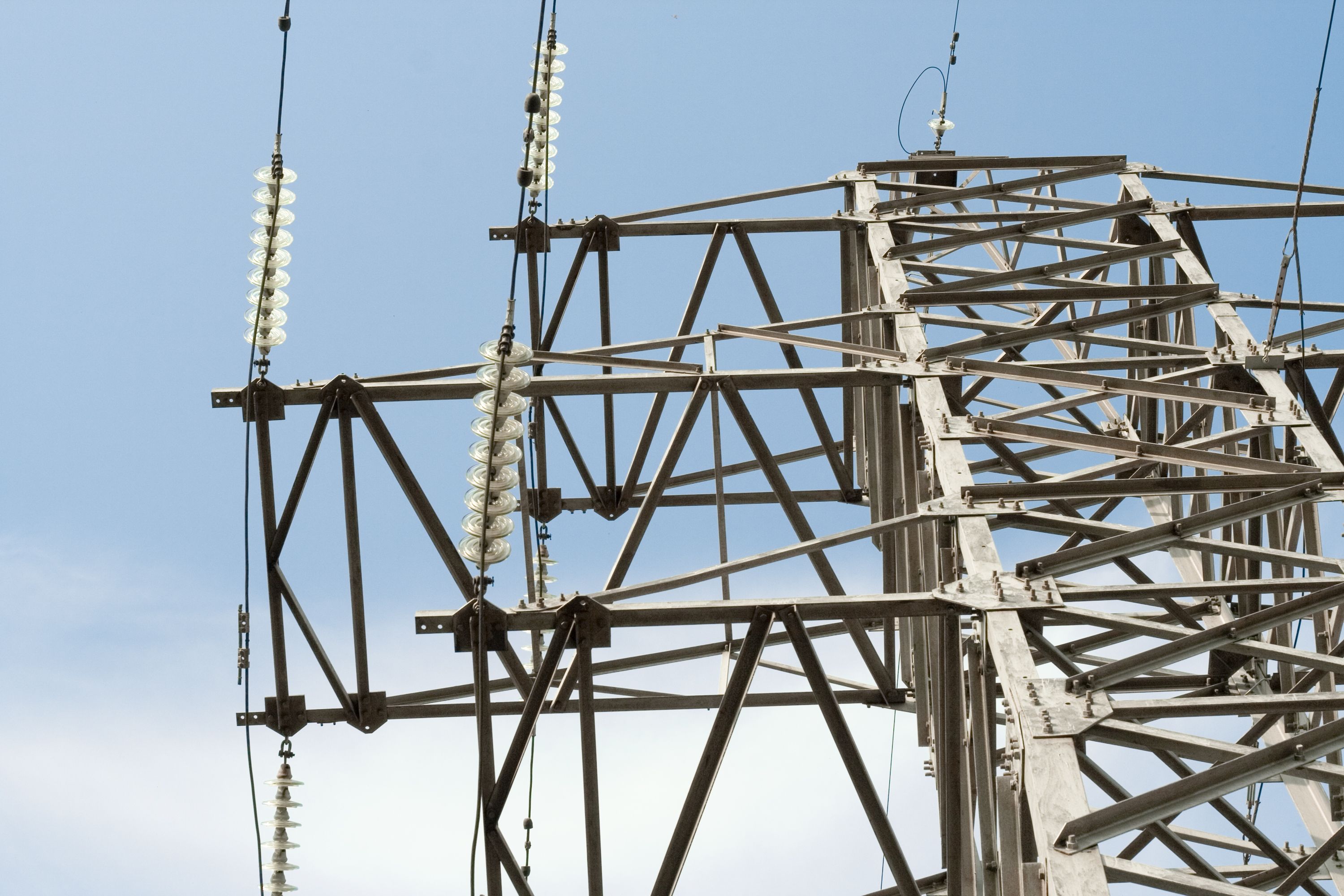 Electrical power lines, Cable, Outburst, Tower, Touch, HQ Photo