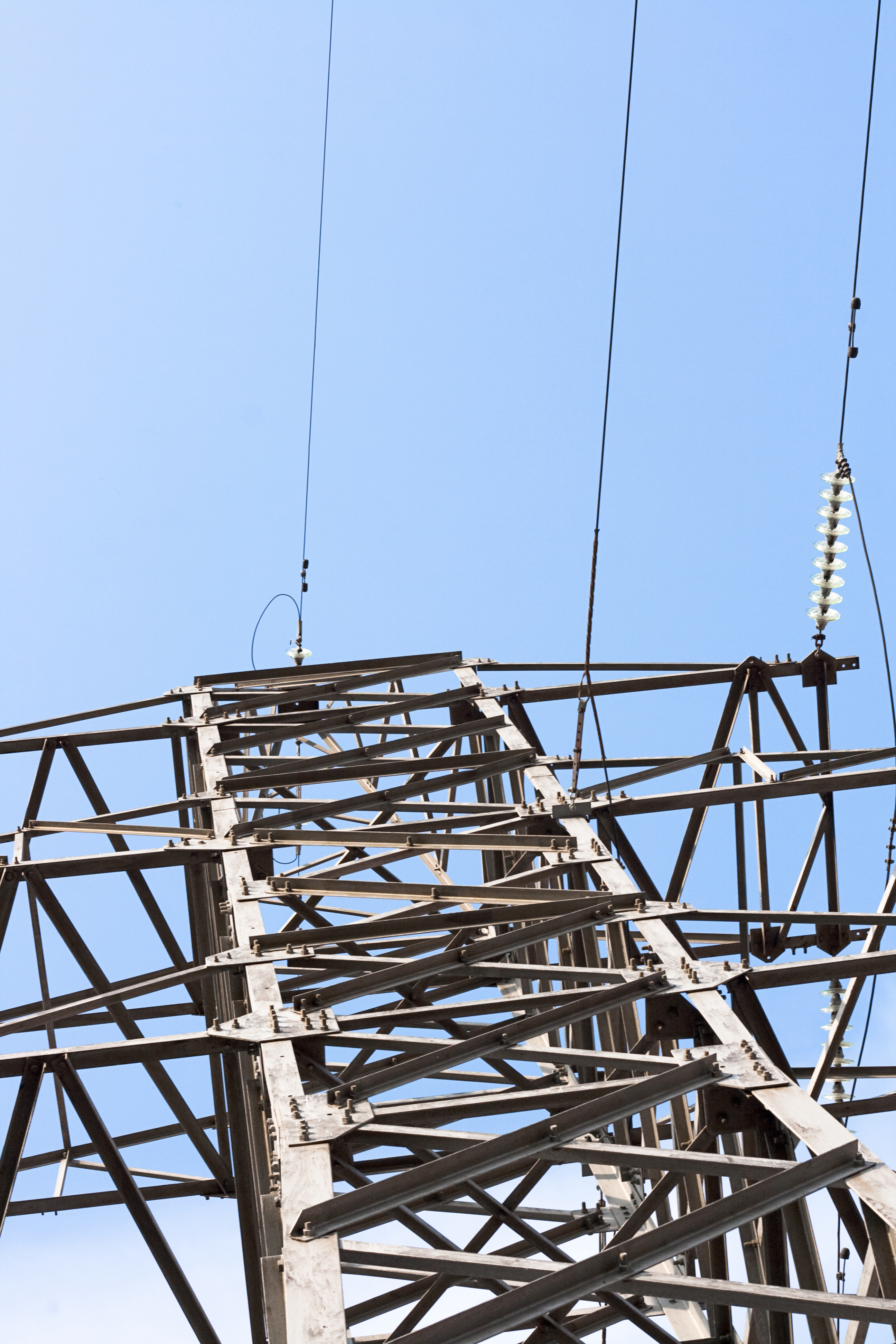 Electrical power lines photo
