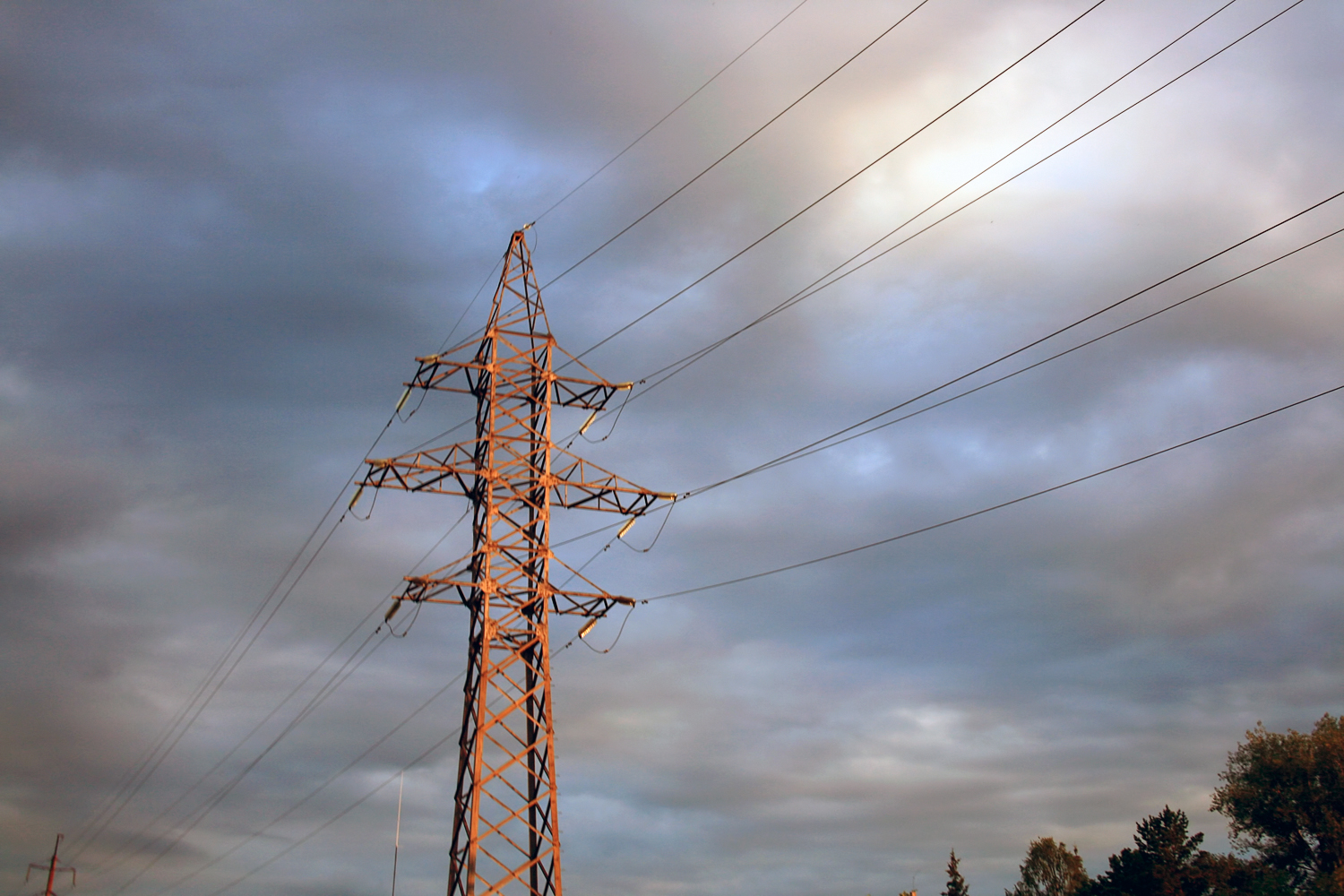 electrical power lines, Cable, Outline, Transmission, Tower, HQ Photo