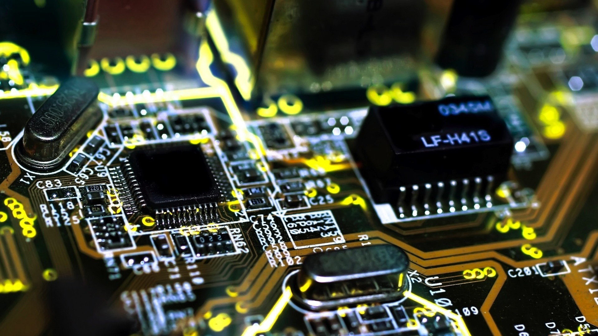 Chips electronic circuit boards wallpaper   AllWallpaper.in #4243 ...