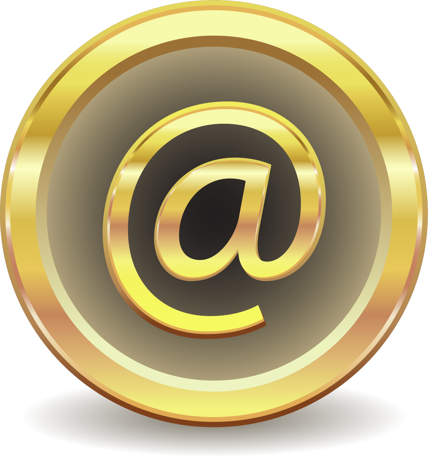 EMail At Sign Icons PNG - Free PNG and Icons Downloads