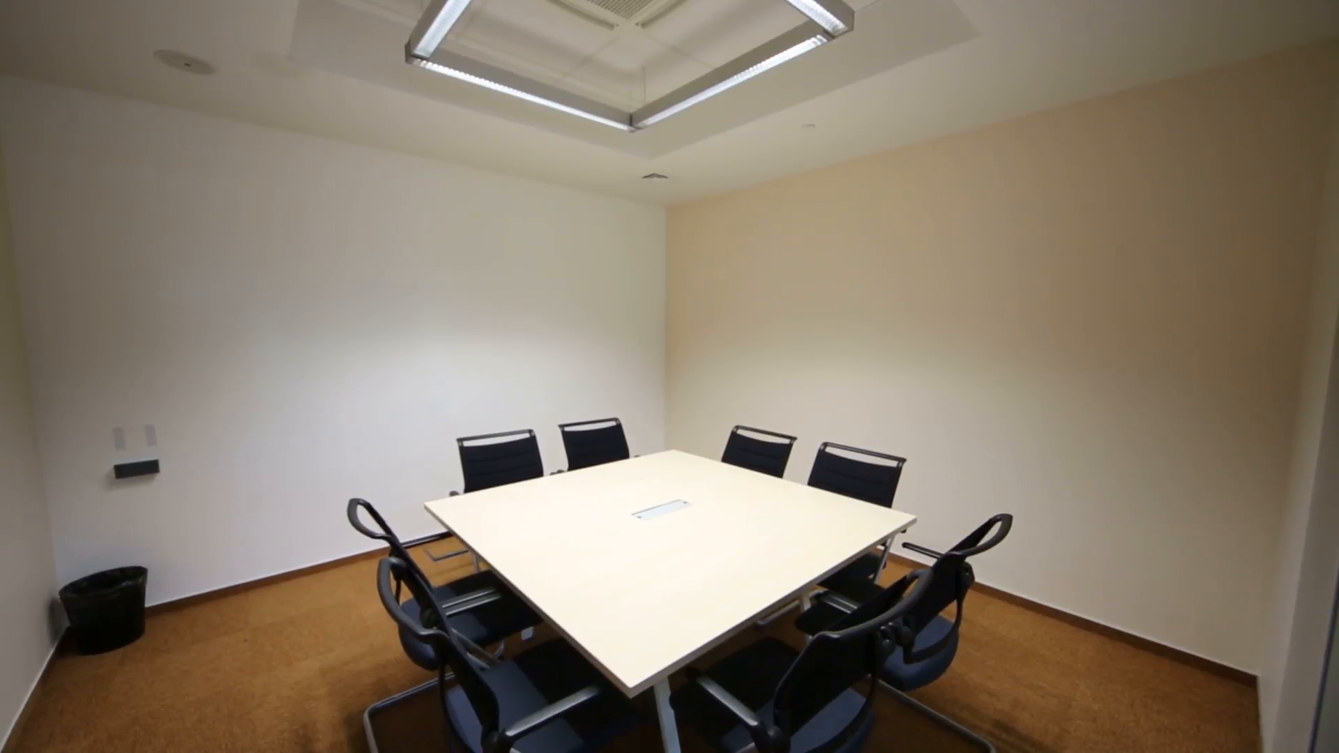 Empty meeting room photo