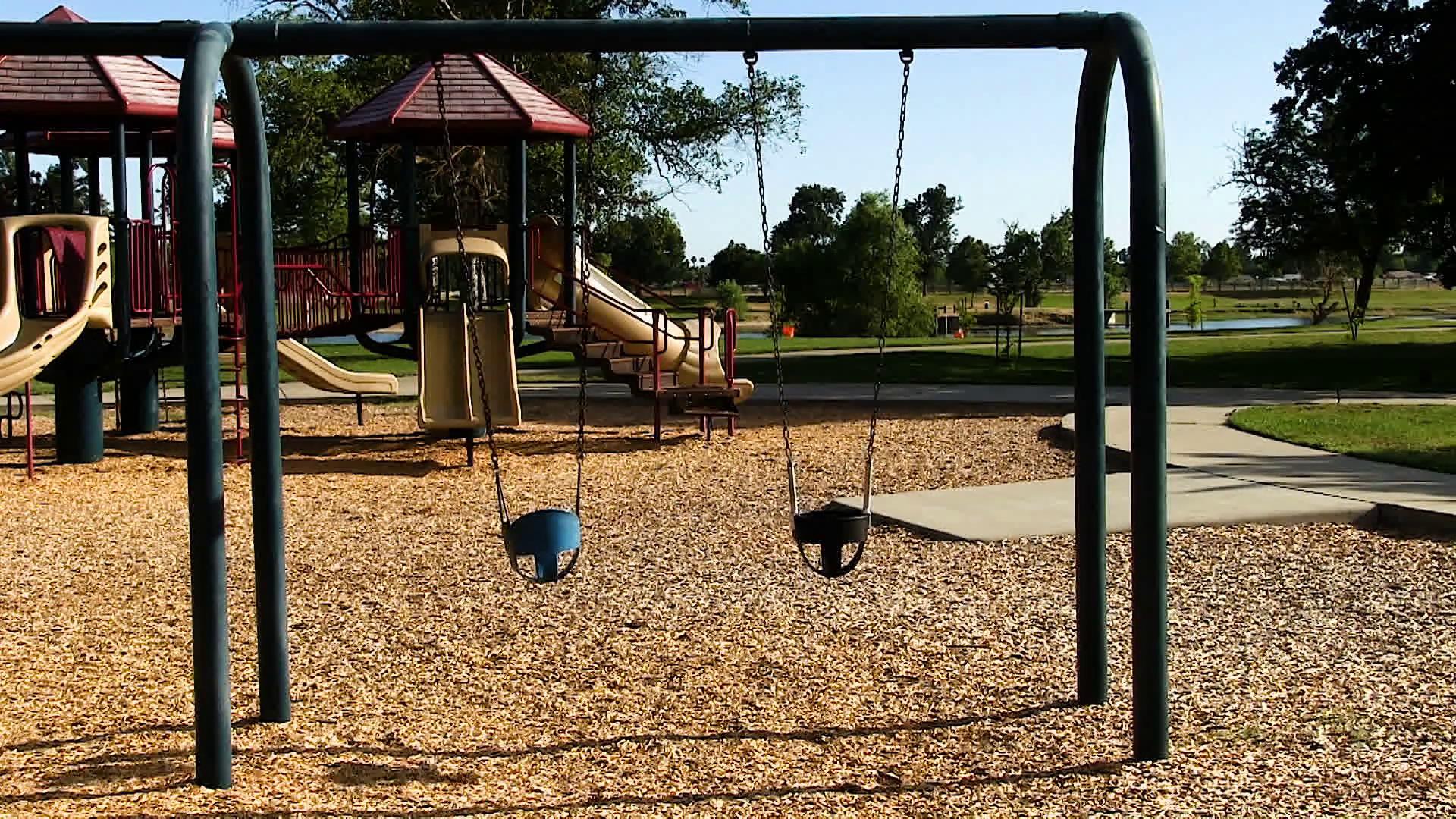 Empty playground photo