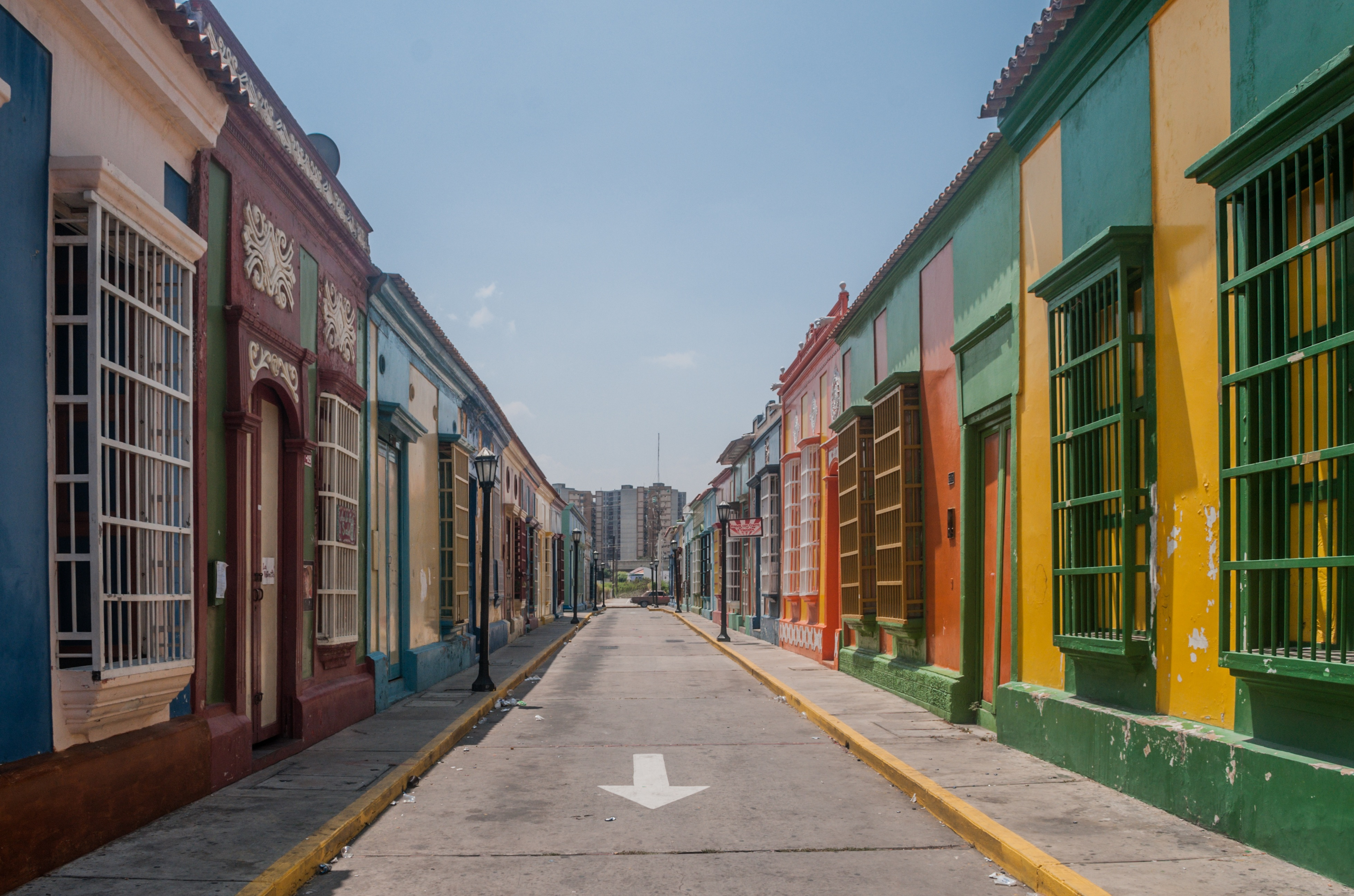 Empty Street, Architecture, Block, City, Construction, HQ Photo