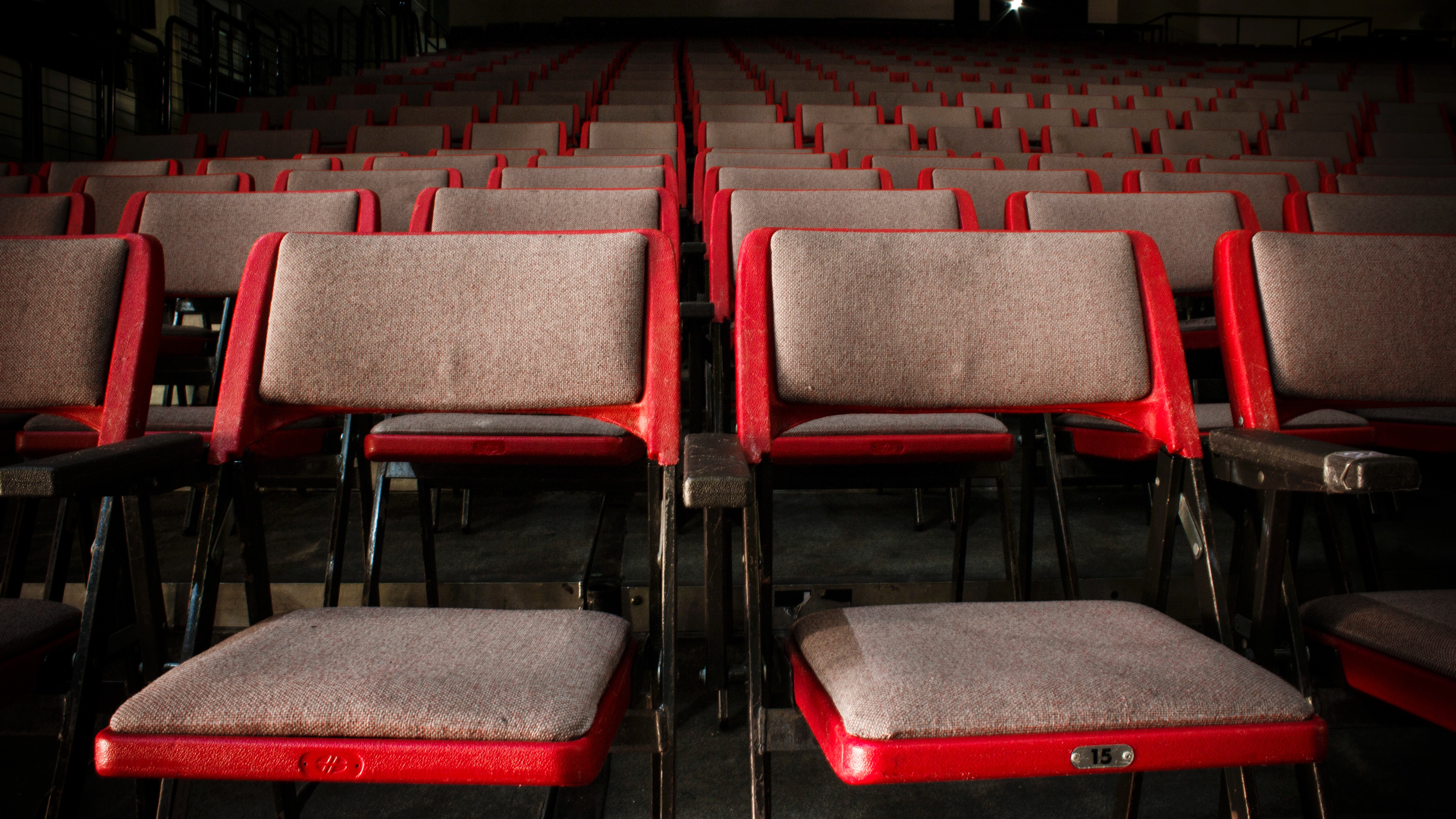 Free Photo Empty Theater Seats Audience Movie Vacant Free Download Jooinn