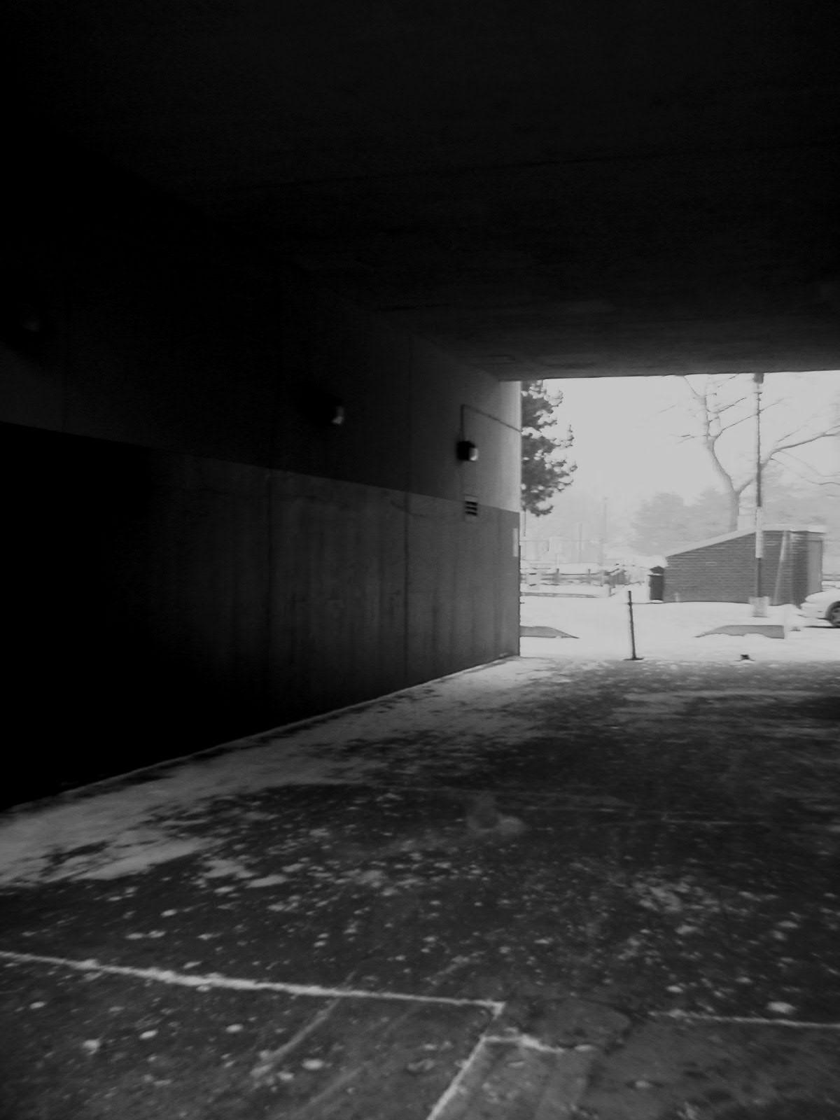 Empty, monochrome