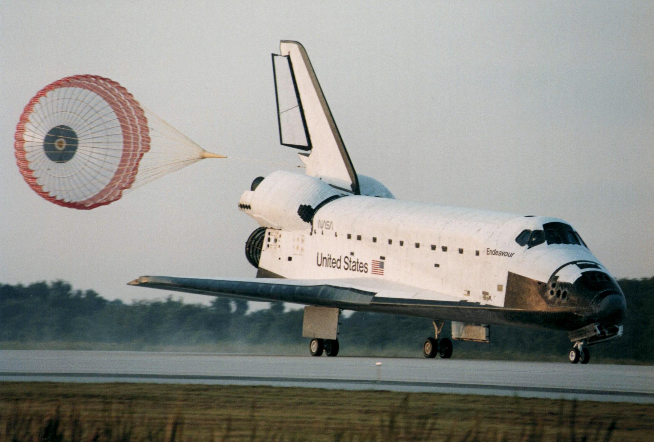 Endeavor space shuttle photo