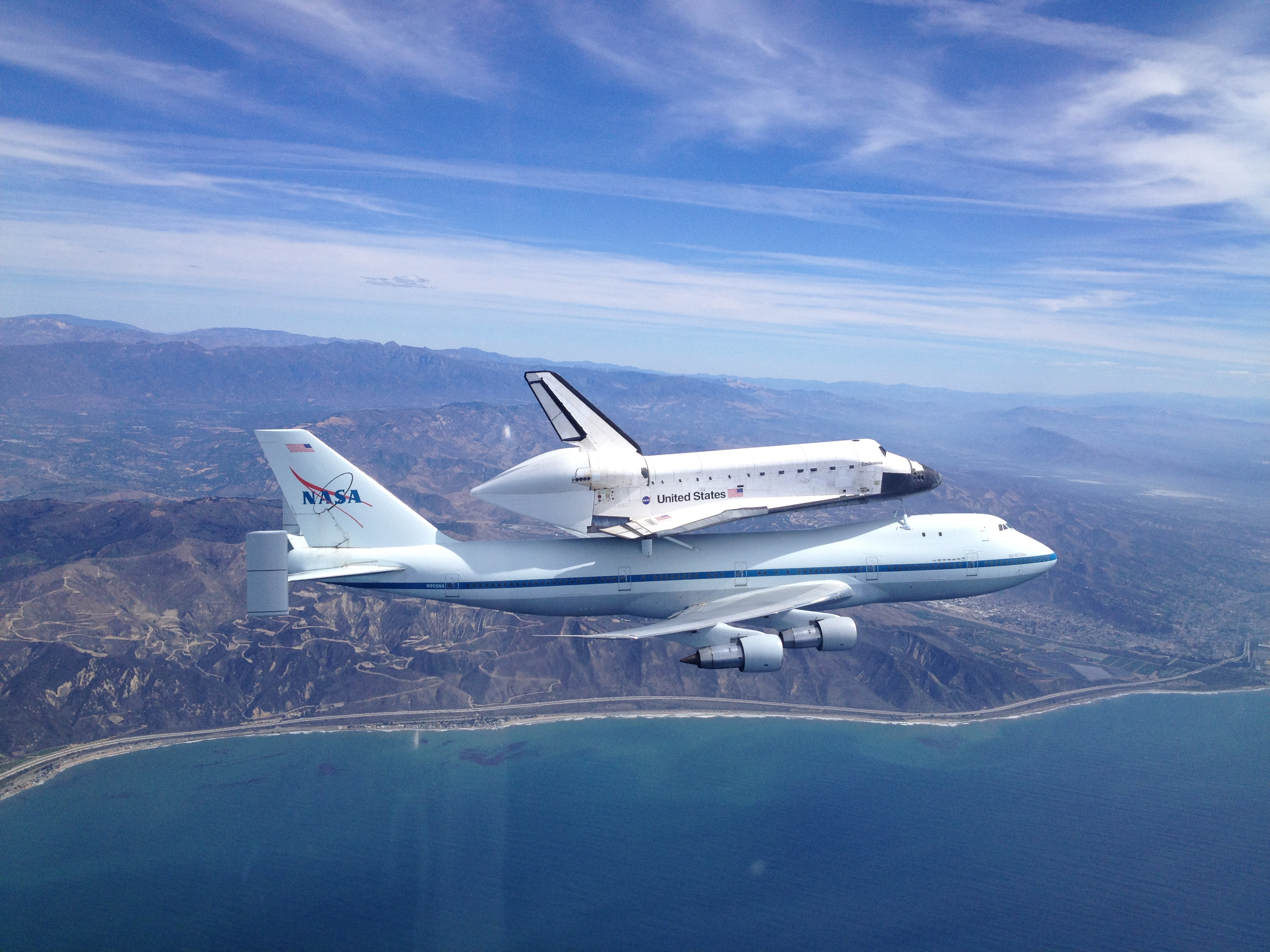 Space Shuttle Endeavour Comes Home to Los Angeles   NASA