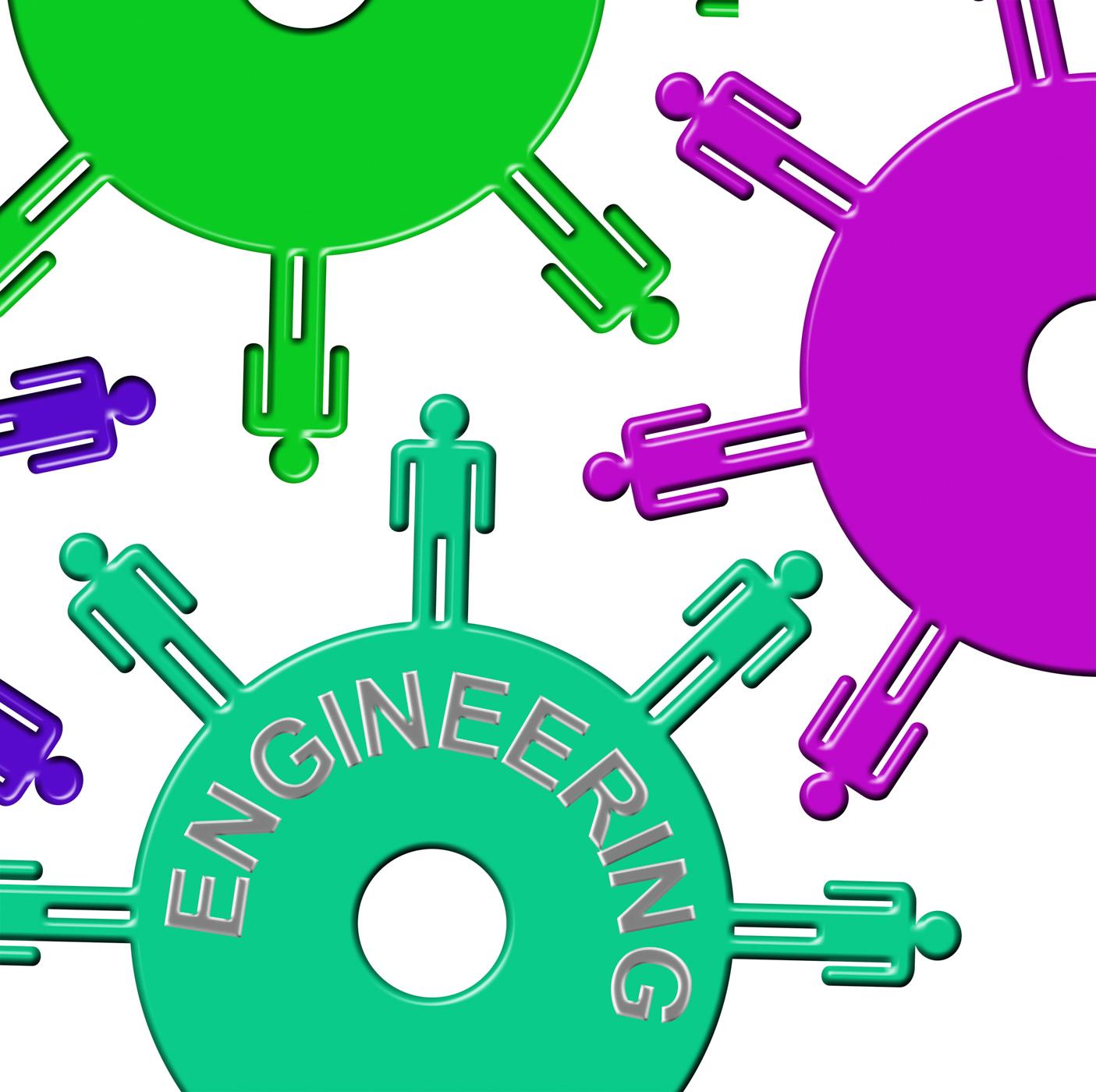 Engineering Cogs Represents Gear Wheel And Clockwork, Clockwork, Gears, Team, Mechanics, HQ Photo