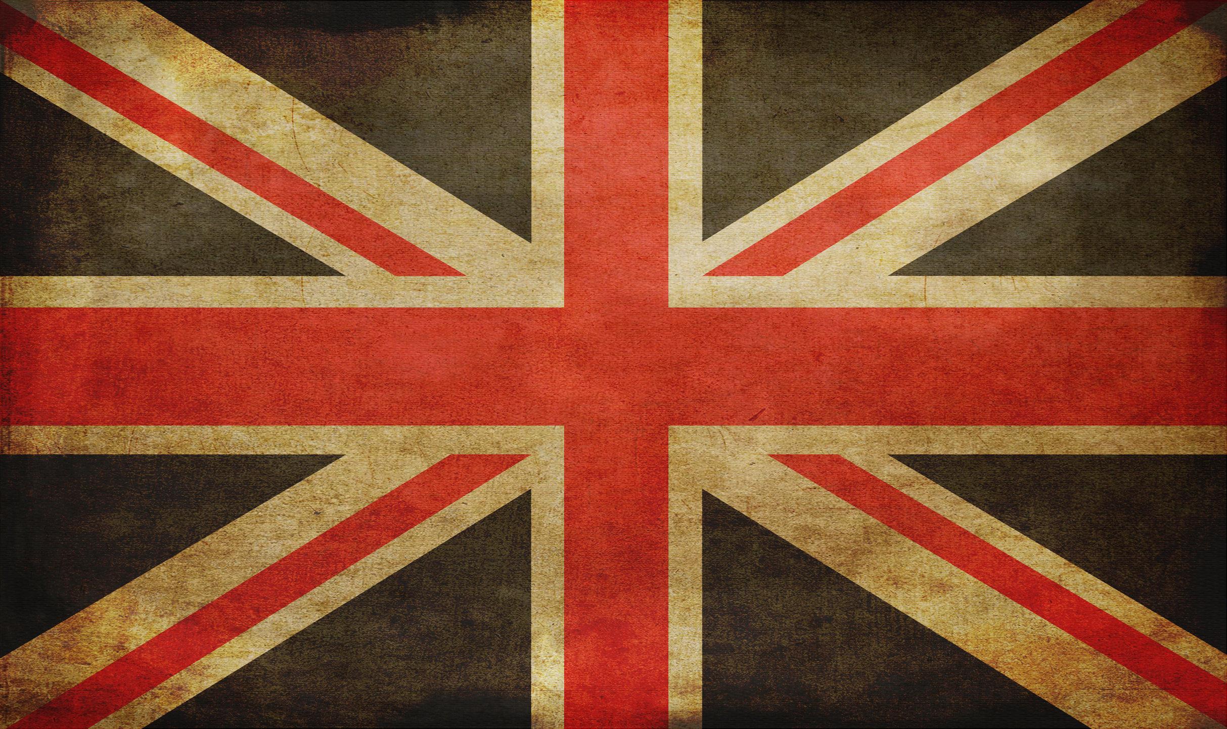 England grunge flag photo