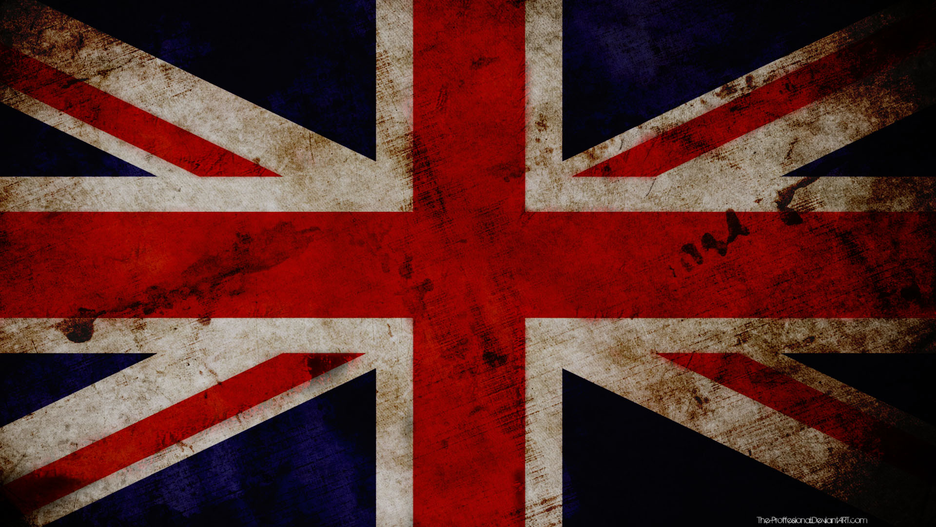 Great Britain grunge wallpaper by The-proffesional on DeviantArt