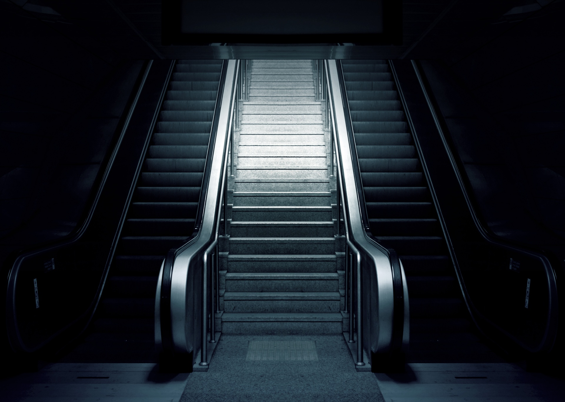 Escalator Metro Stairs Free Stock Photo - Public Domain Pictures
