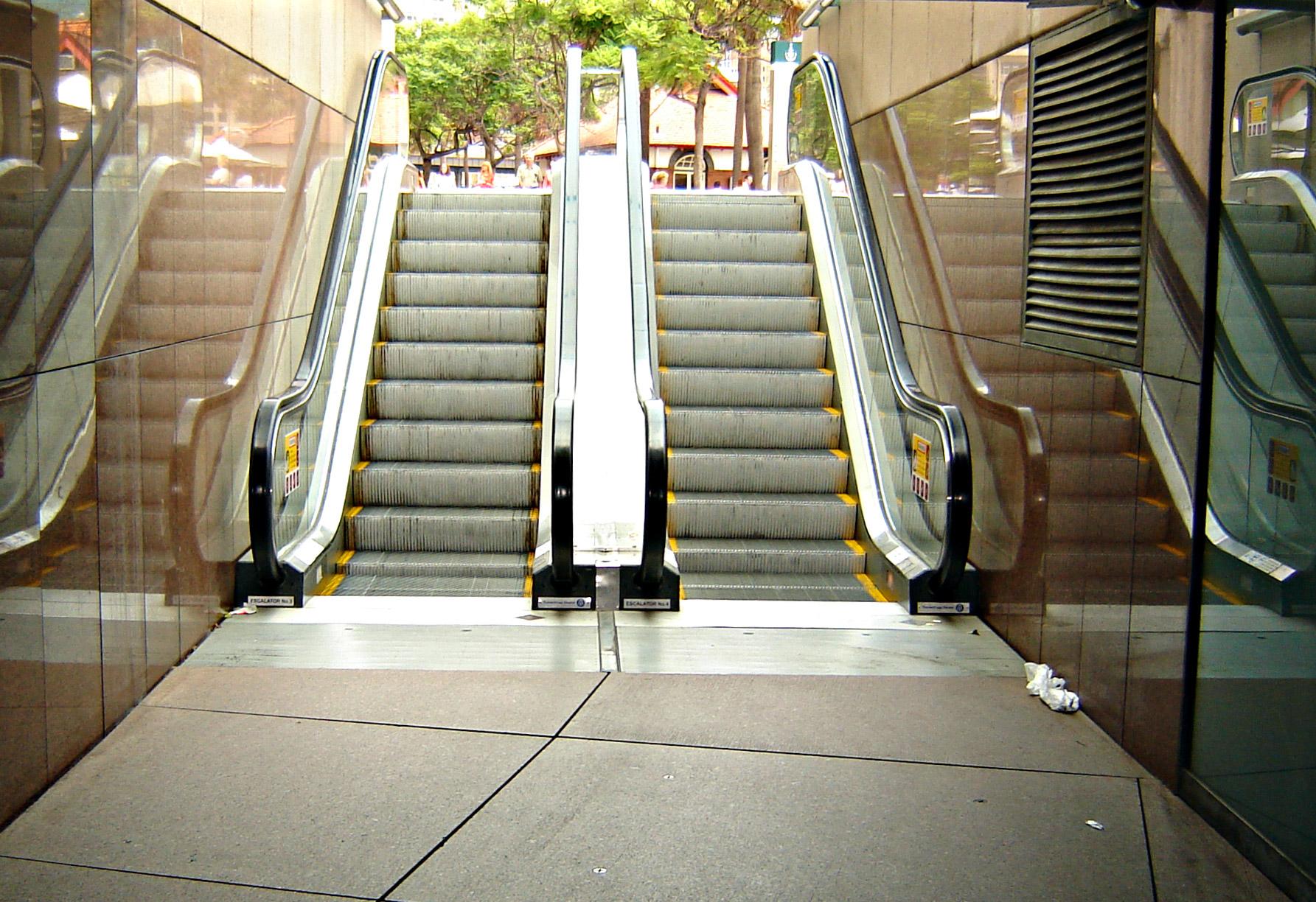 Escalators, Electrical, Stairs, Tunnel, Walkway, HQ Photo