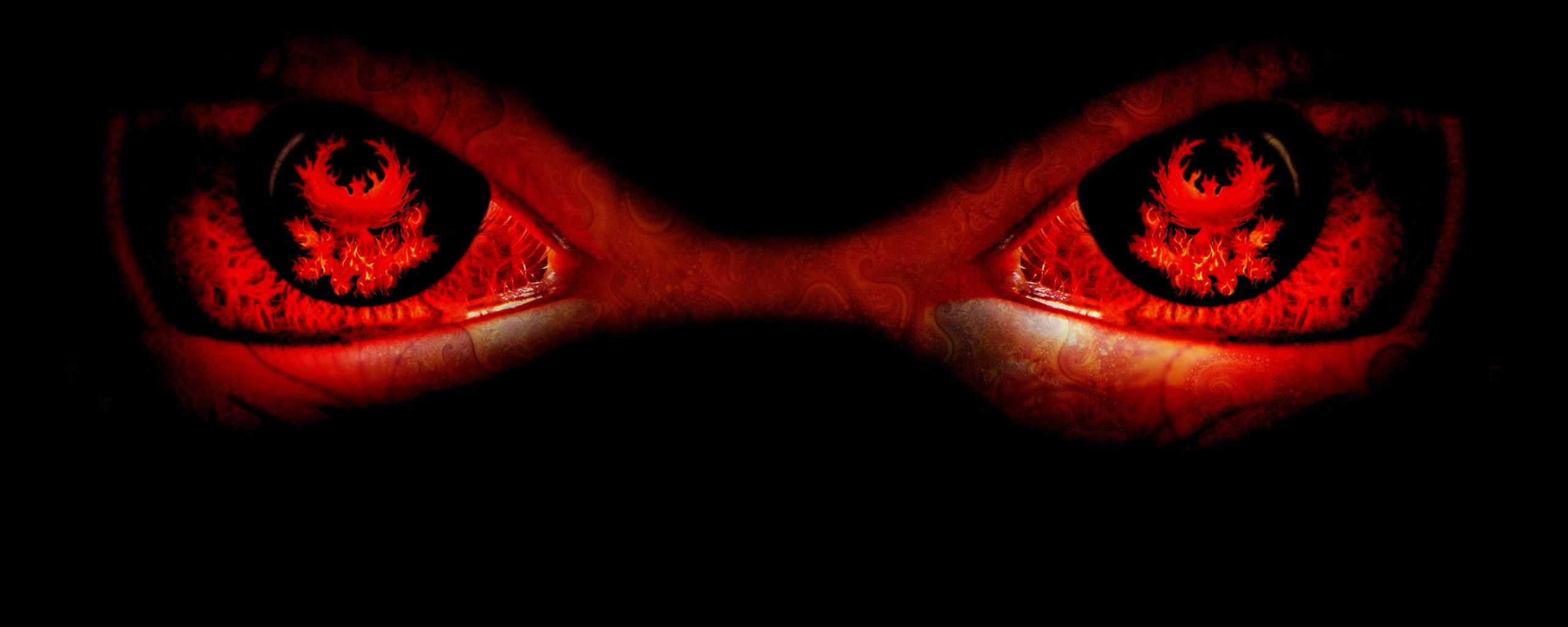 Evil eyes photo