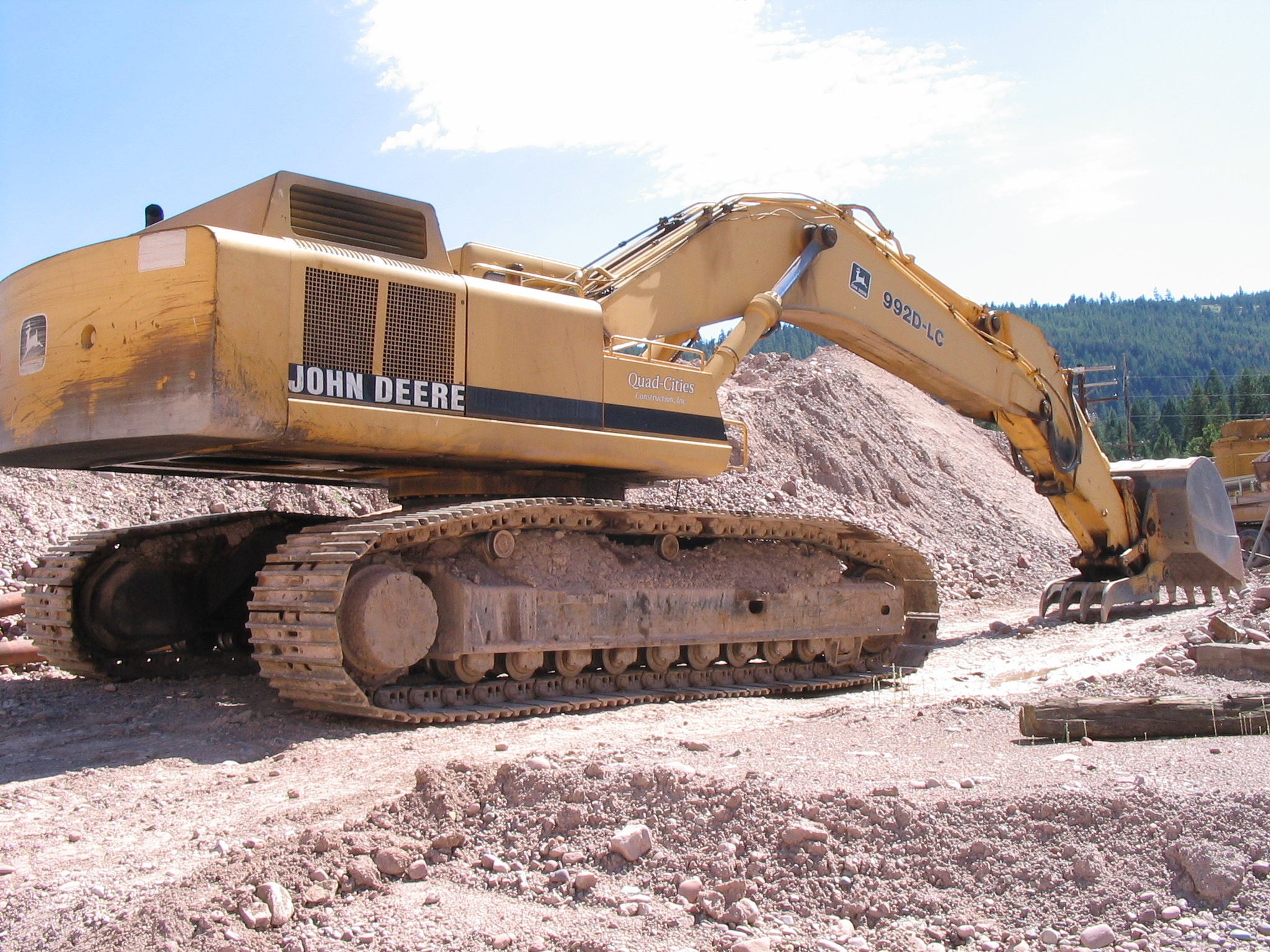 John Deere 992D LC Excavator For Sale | Seely Lake, MT | 236716 ...