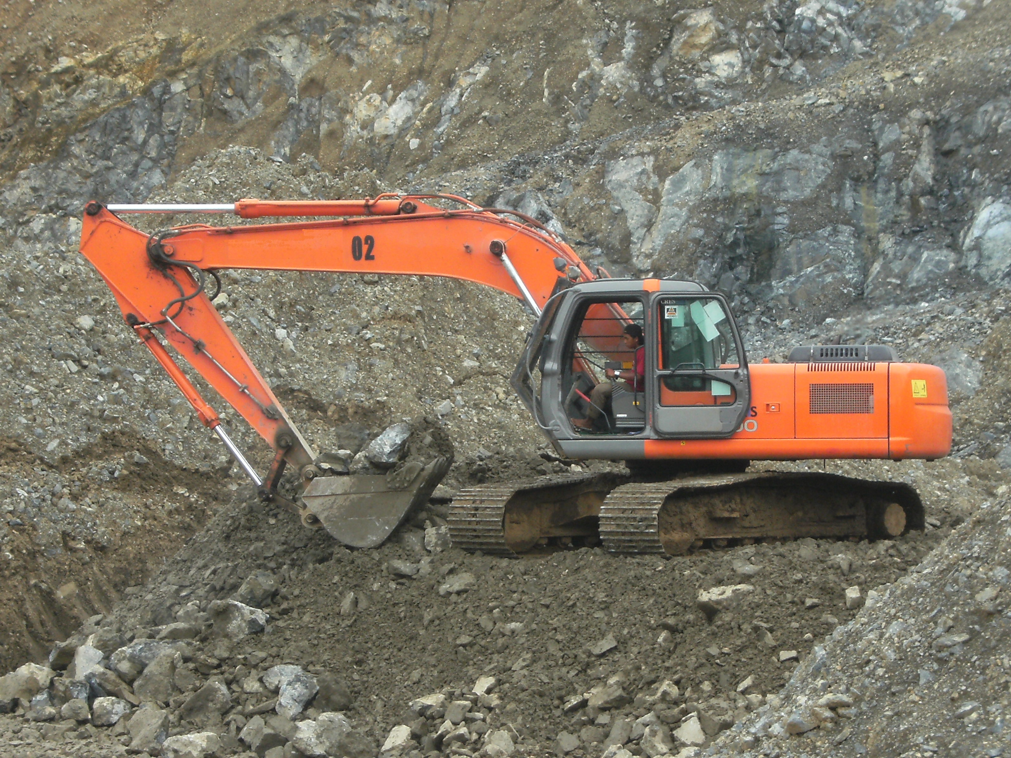 Excavator, Crusher, Digger, Industrial, Mining, HQ Photo