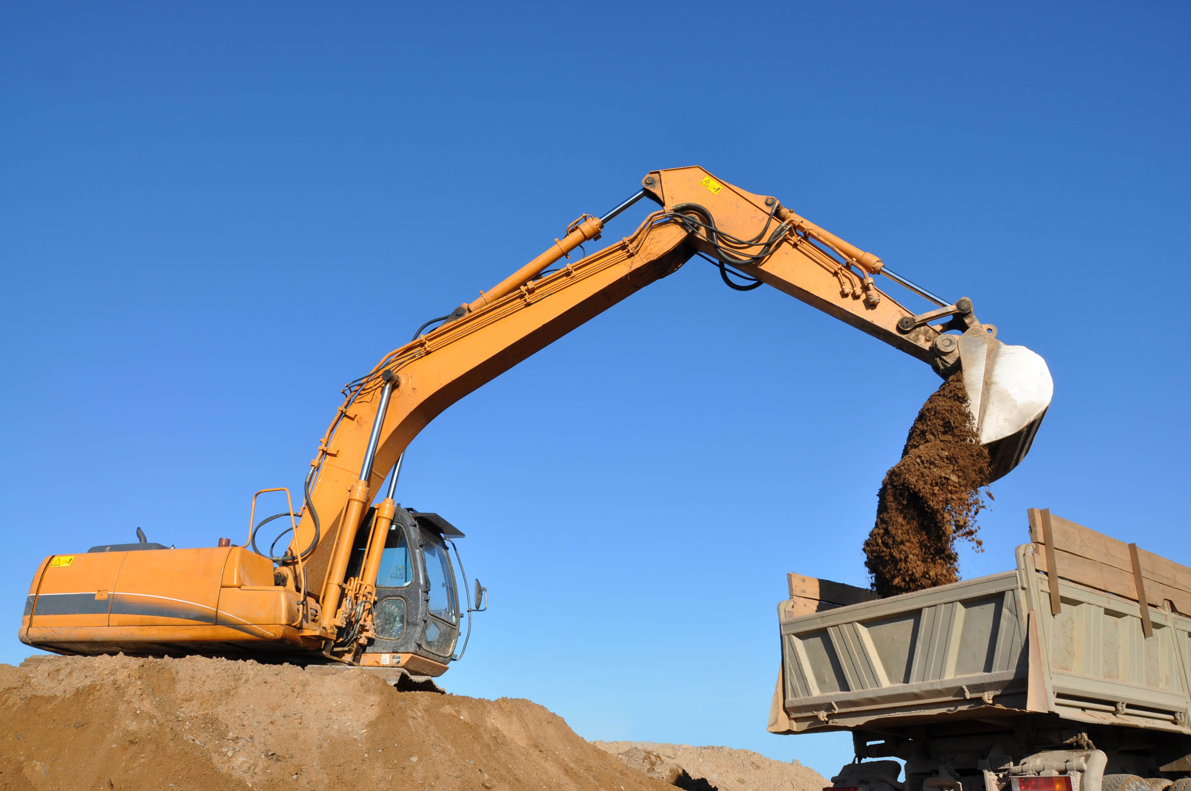 Excavator, Construction, Power, Mine, Mining, HQ Photo